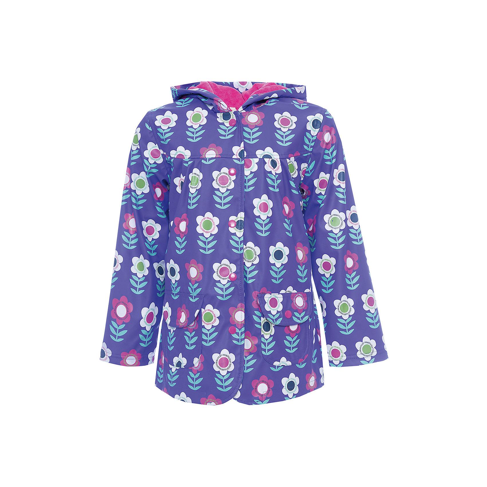 Плащ для девочки HatleyВерхняя одежда<br>Плащ для девочки Hatley<br><br>Характеристики:<br><br>• Состав: верх - 100%полиуретан, подкладка -100% полиэстер<br>• Цвет: фиолетовый, красный<br><br>Красивый и яркий плащ с уникальным дизайном не оставит ребенка равнодушным. У плаща два небольших кармана, удобный капюшон и крючок, чтобы повесить вещь на вешалку. Внутри плаща махровая подкладка, которая придает дополнительное тепло. Застегивается плащ на пуговки, которые может застегнуть ребенок самостоятельно. <br><br>Плащ для девочки Hatley можно купить в нашем интернет-магазине.<br><br>Ширина мм: 356<br>Глубина мм: 10<br>Высота мм: 245<br>Вес г: 519<br>Цвет: фиолетовый<br>Возраст от месяцев: 18<br>Возраст до месяцев: 24<br>Пол: Женский<br>Возраст: Детский<br>Размер: 92,104,128,110,116,122<br>SKU: 5020750