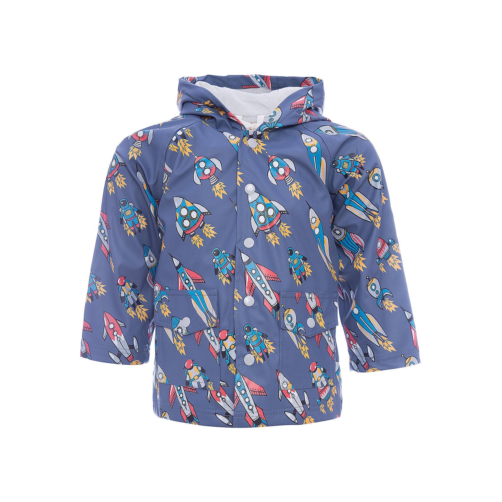 Плащ для мальчика HatleyВерхняя одежда<br>Плащ для мальчика Hatley<br><br>Характеристики:<br><br>• Состав: верх - 100%полиуретан, подкладка -100% полиэстер<br>• Цвет: серый<br><br>Красивый и яркий плащ с уникальным дизайном не оставит ребенка равнодушным. У плаща два небольших кармана, удобный капюшон и крючок, чтобы повесить вещь на вешалку. Внутри плаща махровая подкладка, которая придает дополнительное тепло. Застегивается плащ на пуговки, которые может застегнуть ребенок самостоятельно. <br><br>Плащ для мальчика Hatley можно купить в нашем интернет-магазине.<br><br>Ширина мм: 356<br>Глубина мм: 10<br>Высота мм: 245<br>Вес г: 519<br>Цвет: серый<br>Возраст от месяцев: 36<br>Возраст до месяцев: 48<br>Пол: Мужской<br>Возраст: Детский<br>Размер: 104,92,110,98<br>SKU: 5020784