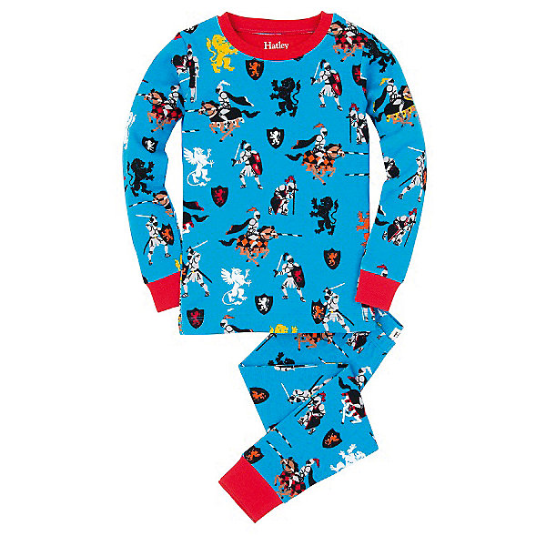 Пижама для мальчика HatleyПижамы и сорочки<br>Пижама для мальчика Hatley<br><br>Характеристики:<br><br>• Цвет: голубой<br>• Материал: 100% хлопок<br><br>Милая и яркая пижама для мальчика сделана из качественного материала, который не вызывает аллергию. Манжеты внизу на штанишках и на рукавах делают пижаму еще теплее, ведь они не позволяют пижамке «задраться» во время сна. Маленькие рыцари, изображенные на пижаме, не смогут оставить равнодушным ни одного мальчишку.<br><br>Пижама для мальчика Hatley можно купить в нашем интернет-магазине.<br><br>Ширина мм: 281<br>Глубина мм: 70<br>Высота мм: 188<br>Вес г: 295<br>Цвет: голубой<br>Возраст от месяцев: 18<br>Возраст до месяцев: 24<br>Пол: Мужской<br>Возраст: Детский<br>Размер: 92,104,122,128,110,116,98<br>SKU: 5020789