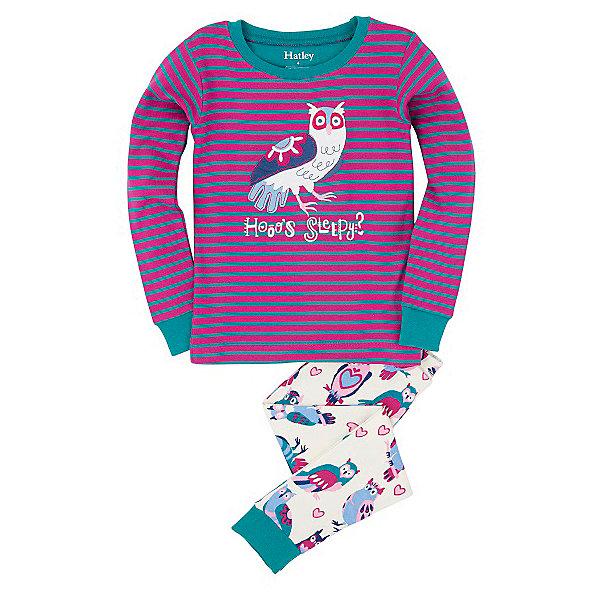 Пижама для девочки HatleyПижамы и сорочки<br>Пижама для девочки Hatley<br><br>Характеристики:<br><br>• Цвет: малиновый, белый<br>• Материал: 100% хлопок<br><br>Милая и яркая пижама для девочки сделана из качественного материала, который не вызывает аллергию. Манжеты внизу на штанишках и на рукавах делают пижаму еще теплее, ведь они не позволяют пижамке «задраться» во время сна. Сова, изображенная на пижаме, не сможет оставить равнодушным ни одну принцессу.<br><br>Пижама для девочки Hatley можно купить в нашем интернет-магазине.<br><br>Ширина мм: 281<br>Глубина мм: 70<br>Высота мм: 188<br>Вес г: 295<br>Цвет: розовый<br>Возраст от месяцев: 18<br>Возраст до месяцев: 24<br>Пол: Женский<br>Возраст: Детский<br>Размер: 104,116,98,110,128,122,92<br>SKU: 5020797