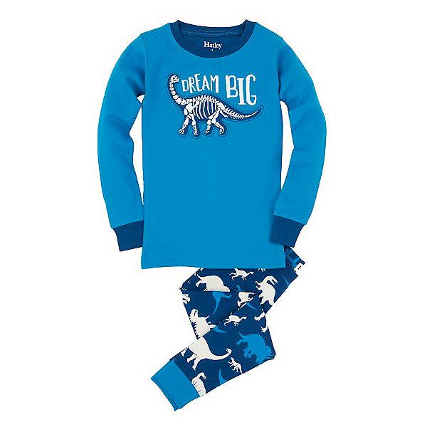 Пижама для мальчика HatleyПижамы и сорочки<br>Пижама для мальчика Hatley<br><br>Характеристики:<br><br>• Цвет: голубой<br>• Материал: 100% хлопок<br><br>Милая и яркая пижама для мальчика сделана из качественного материала, который не вызывает аллергию. Манжеты внизу на штанишках и на рукавах делают пижаму еще теплее, ведь они не позволяют пижамке «задраться» во время сна. Маленькие динозавры, изображенные на пижаме, не смогут оставить равнодушным ни одного мальчишку.<br><br>Пижама для мальчика Hatley можно купить в нашем интернет-магазине.<br>Ширина мм: 281; Глубина мм: 70; Высота мм: 188; Вес г: 295; Цвет: голубой; Возраст от месяцев: 18; Возраст до месяцев: 24; Пол: Мужской; Возраст: Детский; Размер: 92,104,116,98,110,122; SKU: 5020805;
