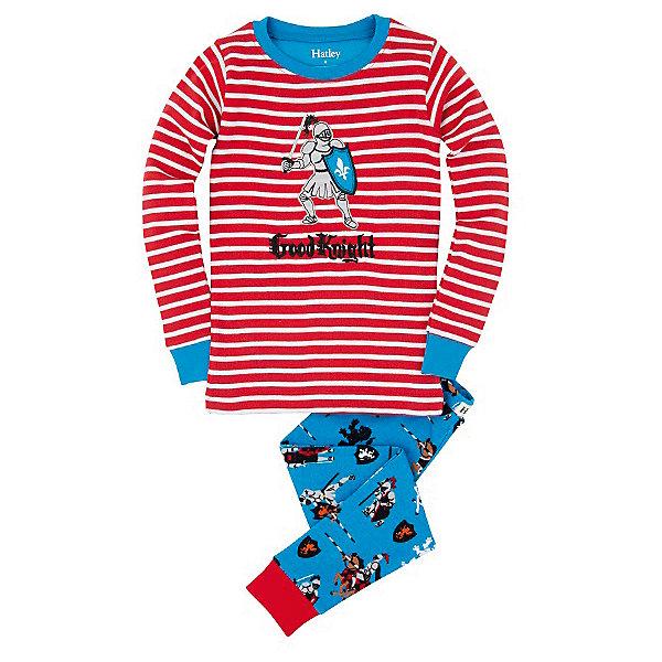 Пижама для мальчика HatleyПижамы и сорочки<br>Пижама для мальчика Hatley<br><br>Характеристики:<br><br>• Цвет: голубой, красный<br>• Материал: 100% хлопок<br><br>Милая и яркая пижама для мальчика сделана из качественного материала, который не вызывает аллергию. Манжеты внизу на штанишках и на рукавах делают пижаму еще теплее, ведь они не позволяют пижамке «задраться» во время сна. Рыцарь, изображенный на пижаме, не сможет оставить равнодушным ни одного мальчишку.<br><br>Пижама для мальчика Hatley можно купить в нашем интернет-магазине.<br><br>Ширина мм: 281<br>Глубина мм: 70<br>Высота мм: 188<br>Вес г: 295<br>Цвет: синий/красный<br>Возраст от месяцев: 18<br>Возраст до месяцев: 24<br>Пол: Мужской<br>Возраст: Детский<br>Размер: 92,104,116,98,110,128,122<br>SKU: 5020812