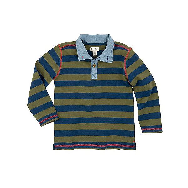 Футболка с длинным рукавом для мальчика HatleyФутболки с длинным рукавом<br>Футболка с длинным рукавом для мальчика Hatley<br><br>Характеристики:<br><br>• Состав: 100% хлопок<br><br>Красивая и модная футболка с длинными рукавами идеально подойдет для летней прохладной погоды или для носки в помещении. Благодаря тому, что ткань натуральная и не вызывает аллергии, ребенок сможет бегать и прыгать, не боясь, что вспотеет и на коже будут раздражения. Яркий и забавный принт-аппликация делает футболку еще и очень привлекательной. У рубашки высокий воротник на пуговках. Внизу по бокам небольшие разрезы, которые делают футболку более свободной. Прострочка рукава, на плечах и внизу кофты делает дизайн футболки неповторимым.<br><br>Футболку с длинным рукавом для мальчика Hatley можно купить в нашем интернет-магазине.<br><br>Ширина мм: 230<br>Глубина мм: 40<br>Высота мм: 220<br>Вес г: 250<br>Цвет: темно-синий<br>Возраст от месяцев: 24<br>Возраст до месяцев: 36<br>Пол: Мужской<br>Возраст: Детский<br>Размер: 98,128,122,116,110,104<br>SKU: 5020833