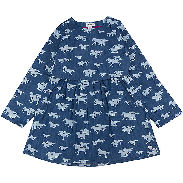 Платье для девочки HatleyПлатья и сарафаны<br>Платье для девочки Hatley<br><br>Характеристики:<br><br>• Состав: 100% хлопок<br>• Цвет: синий<br><br>Очаровательное дизайнерское платье не оставит равнодушным маленькую принцессу. Сделано из 100% хлопка, а значит не принесет дискомфорт ребенку. Рукава можно подворачивать и прикреплять за пуговку. Платье сделано по типу: юбка + пиджак, что делает юную леди взрослой и очень стильной. Милый принт с яблочками идеально сочетается с любой обувью и колготками.<br><br>Платье для девочки Hatley можно купить в нашем интернет-магазине.<br>Ширина мм: 236; Глубина мм: 16; Высота мм: 184; Вес г: 177; Цвет: синий; Возраст от месяцев: 84; Возраст до месяцев: 96; Пол: Женский; Возраст: Детский; Размер: 128,122,104,116,110; SKU: 5020840;