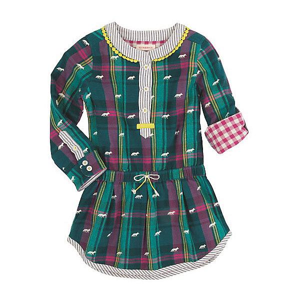 Платье для девочки HatleyПлатья и сарафаны<br>Платье для девочки Hatley<br><br>Характеристики:<br><br>• Состав: 100% хлопок<br>• Цвет: зеленый<br><br>Очаровательное дизайнерское платье не оставит равнодушным маленькую принцессу. Сделано из 100% хлопка, а значит не принесет дискомфорт ребенку. Рукава можно подворачивать и прикреплять за пуговку. Платье сделано по типу: юбка + рубашка на пуговках до середины груди, что делает юную леди взрослой и очень стильной. Милый принт с яблочками идеально сочетается с любой обувью и колготками. Воздушная юбочка украшена маленьким бантиком на резинке.<br><br>Платье для девочки Hatley можно купить в нашем интернет-магазине.<br><br>Ширина мм: 236<br>Глубина мм: 16<br>Высота мм: 184<br>Вес г: 177<br>Цвет: зеленый<br>Возраст от месяцев: 36<br>Возраст до месяцев: 48<br>Пол: Женский<br>Возраст: Детский<br>Размер: 104,122,116,110,128<br>SKU: 5020853