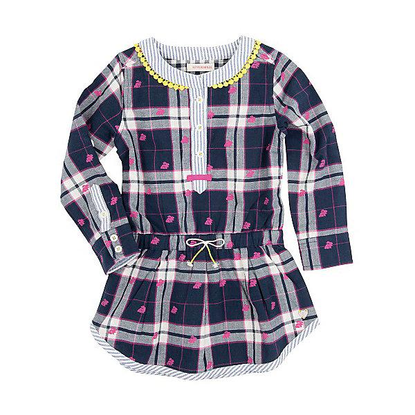 Платье для девочки HatleyПлатья и сарафаны<br>Платье для девочки Hatley<br><br>Характеристики:<br><br>• Состав: 100% хлопок<br>• Цвет: синий<br><br>Очаровательное дизайнерское платье не оставит равнодушным маленькую принцессу. Сделано из 100% хлопка, а значит не принесет дискомфорт ребенку. Рукава можно подворачивать и прикреплять за пуговку. Платье сделано по типу: юбка + рубашка на пуговках до середины груди, что делает юную леди взрослой и очень стильной. Милый принт с яблочками идеально сочетается с любой обувью и колготками. Воздушная юбочка украшена маленьким бантиком на резинке.<br><br>Платье для девочки Hatley можно купить в нашем интернет-магазине.<br>Ширина мм: 236; Глубина мм: 16; Высота мм: 184; Вес г: 177; Цвет: темно-синий; Возраст от месяцев: 72; Возраст до месяцев: 84; Пол: Женский; Возраст: Детский; Размер: 122,104,116,110,128; SKU: 5020859;