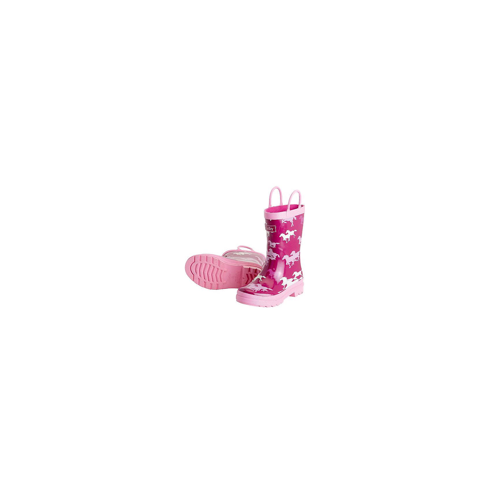 Резиновые сапоги для девочки HatleyСапоги для девочки Hatley<br><br>Характеристики:<br><br>• Состав: верх -ПВХ, подкладка - 100% хлопок<br>• Цвет: розовый<br><br>Яркие, стильные и модные резиновые сапоги для девочки сделаны из высококачественных материалов. Резина сока каучуковых деревьев не даст ножкам промокнуть, а хлопковая подкладка защитит от холода. Внутри есть стелька с аркой, которая способствует правильному формированию стопы. По бокам есть удобные ручки. <br><br>Сапоги для девочки Hatley можно купить в нашем интернет-магазине.<br><br>Ширина мм: 237<br>Глубина мм: 180<br>Высота мм: 152<br>Вес г: 438<br>Цвет: фуксия<br>Возраст от месяцев: 24<br>Возраст до месяцев: 24<br>Пол: Женский<br>Возраст: Детский<br>Размер: 25,24<br>SKU: 5020905