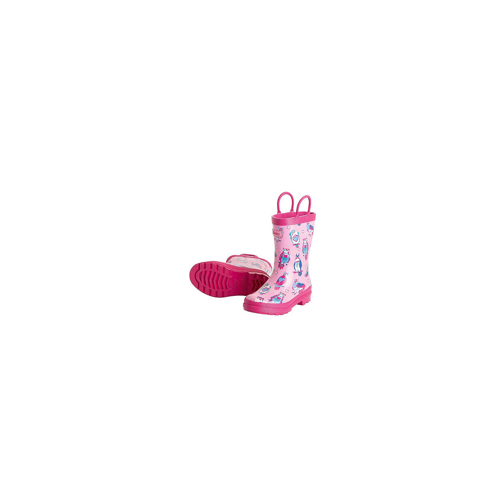 Резиновые сапоги для девочки HatleyРезиновые сапоги<br>Сапоги для девочки Hatley<br><br>Характеристики:<br><br>• Состав: верх - каучук синтетический 100%, подкладка - 100% хлопок<br>• Цвет: розовый<br><br>Яркие, стильные и модные резиновые сапоги для девочки сделаны из высококачественных материалов. Резина сока каучуковых деревьев не даст ножкам промокнуть, а хлопковая подкладка защитит от холода. Внутри есть стелька с аркой, которая способствует правильному формированию стопы. По бокам есть удобные ручки. <br><br>Сапоги для девочки Hatley можно купить в нашем интернет-магазине.<br><br>Ширина мм: 237<br>Глубина мм: 180<br>Высота мм: 152<br>Вес г: 438<br>Цвет: розовый<br>Возраст от месяцев: 72<br>Возраст до месяцев: 84<br>Пол: Женский<br>Возраст: Детский<br>Размер: 30,25,27,28,24<br>SKU: 5020952