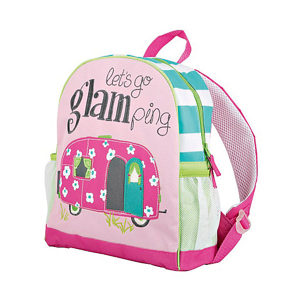 Рюкзак для девочки HatleyАксессуары<br>Рюкзак Hatley<br><br>Характеристики:<br><br>• Состав: 100% полиэстер<br>• Цвет: розовый<br>• Размер (ШхГхВ): 25,5х9х30,5<br><br>Красивый и стильный рюкзак с нашивкой в виде автобуса не оставит равнодушным ни одну принцессу. Кроме модного дизайна рюкзак очень вместительный. Основное отделение закрывается на молнию с бегунками с двух сторон. Рюкзак очень легкий, поэтому ребенок сможет носить в нем большое количество вещей. Ручки мягкие и регулируются по росту и размеру ребенка. Сбоку есть кармашки для бутылки с водой или других предметов.<br><br>Рюкзак Hatley можно купить в нашем интернет-магазине.<br>Ширина мм: 227; Глубина мм: 11; Высота мм: 226; Вес г: 350; Цвет: белый; Возраст от месяцев: 24; Возраст до месяцев: 144; Пол: Женский; Возраст: Детский; Размер: one size; SKU: 5020966;