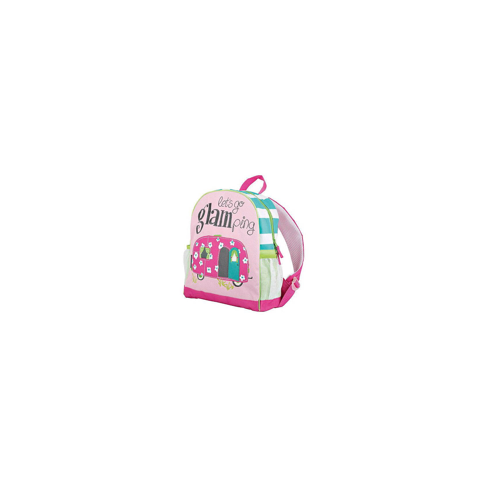 Рюкзак для девочки HatleyРюкзак Hatley<br><br>Характеристики:<br><br>• Состав: 100% полиэстер<br>• Цвет: розовый<br>• Размер (ШхГхВ): 25,5х9х30,5<br><br>Красивый и стильный рюкзак с нашивкой в виде автобуса не оставит равнодушным ни одну принцессу. Кроме модного дизайна рюкзак очень вместительный. Основное отделение закрывается на молнию с бегунками с двух сторон. Рюкзак очень легкий, поэтому ребенок сможет носить в нем большое количество вещей. Ручки мягкие и регулируются по росту и размеру ребенка. Сбоку есть кармашки для бутылки с водой или других предметов.<br><br>Рюкзак Hatley можно купить в нашем интернет-магазине.<br><br>Ширина мм: 227<br>Глубина мм: 11<br>Высота мм: 226<br>Вес г: 350<br>Цвет: разноцветный<br>Возраст от месяцев: 24<br>Возраст до месяцев: 144<br>Пол: Женский<br>Возраст: Детский<br>Размер: one size<br>SKU: 5020966
