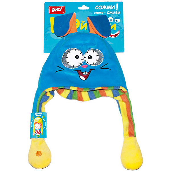 Головной убор Шапка-заяц, FancyМягкие игрушки животные<br>Порадуйте ребенка такой смешной Шапкой-заяц!<br><br>Дополнительная информация: <br><br>- Возраст: от 5 лет.<br>- Материал: 100 % плюш.<br>- Размер упаковки: 50х25х3 см.<br>- Вес в упаковке: 85 г.<br><br>Купить головной убор Шапка-заяц от Fancy, можно в нашем магазине.<br>Ширина мм: 500; Глубина мм: 250; Высота мм: 30; Вес г: 85; Возраст от месяцев: 60; Возраст до месяцев: 2147483647; Пол: Унисекс; Возраст: Детский; SKU: 5025383;