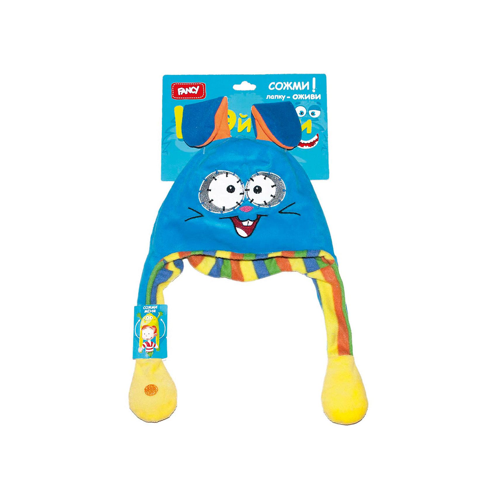 Головной убор Шапка-заяц, FancyМягкие игрушки животные<br>Порадуйте ребенка такой смешной Шапкой-заяц!<br><br>Дополнительная информация: <br><br>- Возраст: от 5 лет.<br>- Материал: 100 % плюш.<br>- Размер упаковки: 50х25х3 см.<br>- Вес в упаковке: 85 г.<br><br>Купить головной убор Шапка-заяц от Fancy, можно в нашем магазине.<br><br>Ширина мм: 500<br>Глубина мм: 250<br>Высота мм: 30<br>Вес г: 85<br>Возраст от месяцев: 60<br>Возраст до месяцев: 2147483647<br>Пол: Унисекс<br>Возраст: Детский<br>SKU: 5025383