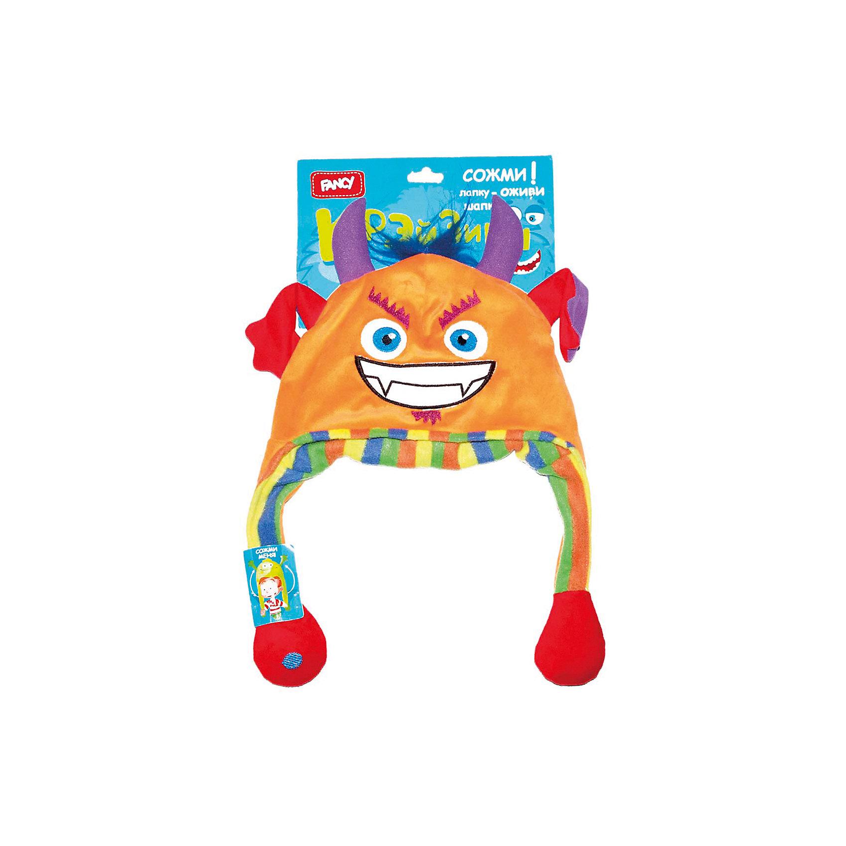 Головной убор Шапка-чёртик, FancyМягкие игрушки животные<br>Порадуйте ребенка такой смешной Шапкой-чертик!<br><br>Дополнительная информация: <br><br>- Материал: 100 % плюш.<br>- Размер упаковки: 21х17х35 см.<br>- Вес в упаковке: 220 г.<br><br>Купить головной убор Шапка-чертик от Fancy, можно в нашем магазине.<br><br>Ширина мм: 500<br>Глубина мм: 270<br>Высота мм: 30<br>Вес г: 90<br>Возраст от месяцев: 60<br>Возраст до месяцев: 2147483647<br>Пол: Унисекс<br>Возраст: Детский<br>SKU: 5025384