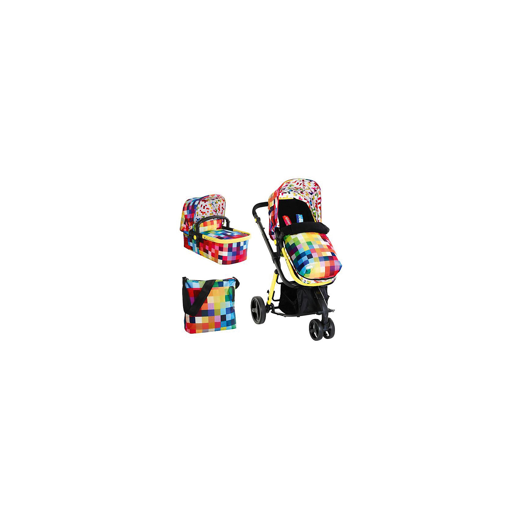 Коляска 2 в 1 Giggle 2, Cosatto, PixelateУдобная коляска – находка для родителей. Кроме функциональности коляски и ее прямого назначения родители обращают внимание на внешний вид. Коляска из новой коллекции – уникальная модель, совмещающая в себе стильный дизайн и множество функций одновременно. Все материалы, использованные при изготовлении аксессуара, безопасны и отвечают требованиям по качеству продукции.<br><br>Дополнительные характеристики: <br><br>цвет: Pixelate;<br>возраст: 0-3 года;<br>регулировка спинки;<br>габариты: 85 х 39 см;<br>комплектация: блок для прогулок, люлька, складывающиеся шасси, защита от дождя и солнца, регулируемая ручка, сумка, чехол для ножек, матрас.<br><br>Коляску 2 в 1 Giggle 2 от компании Cosatto можно приобрести в нашем магазине.<br><br>Ширина мм: 1000<br>Глубина мм: 500<br>Высота мм: 400<br>Вес г: 20000<br>Возраст от месяцев: 0<br>Возраст до месяцев: 36<br>Пол: Унисекс<br>Возраст: Детский<br>SKU: 5025694
