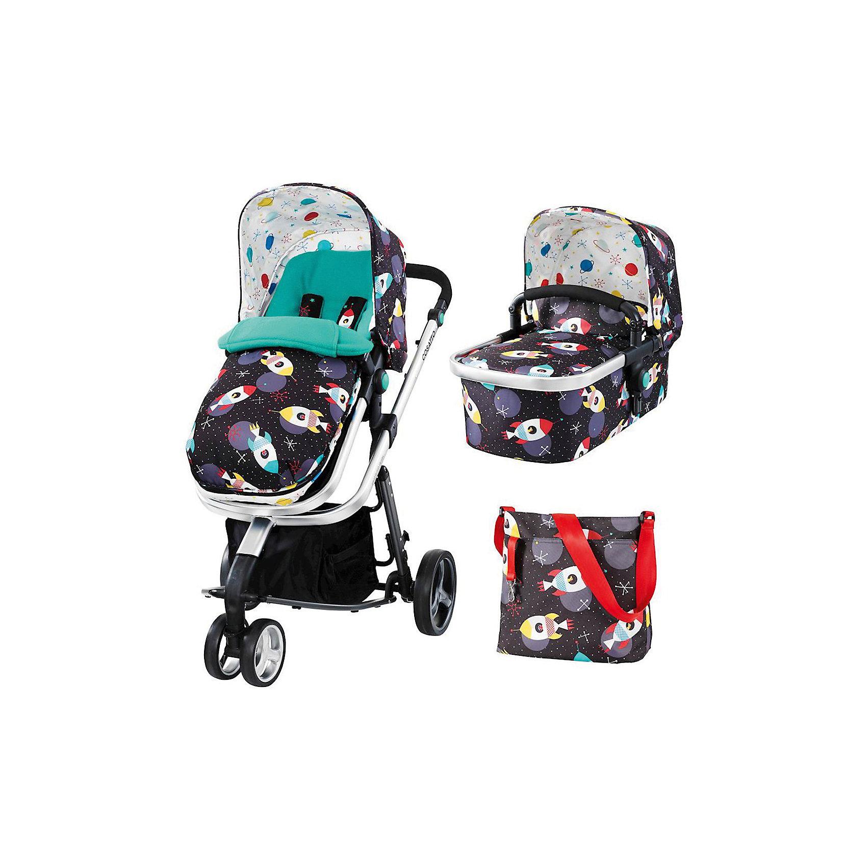 Коляска 2 в 1 Cosatto Giggle 2, Space RacerКоляски 2 в 1<br>Удобная коляска – находка для родителей. Кроме функциональности коляски и ее прямого назначения родители обращают внимание на внешний вид. Коляска из новой коллекции – уникальная модель, совмещающая в себе стильный дизайн и множество функций одновременно. Все материалы, использованные при изготовлении аксессуара, безопасны и отвечают требованиям по качеству продукции.<br><br>Дополнительные характеристики: <br><br>цвет: Space Racer;<br>возраст: 0-3 года;<br>регулировка спинки;<br>габариты: 85 х 39 см;<br>комплектация: блок для прогулок, люлька, складывающиеся шасси, защита от дождя и солнца, регулируемая ручка, сумка, чехол для ножек, матрас.<br><br>Коляску 2 в 1 Giggle 2 от компании Cosatto можно приобрести в нашем магазине.<br><br>Ширина мм: 1000<br>Глубина мм: 500<br>Высота мм: 400<br>Вес г: 20000<br>Возраст от месяцев: 0<br>Возраст до месяцев: 36<br>Пол: Унисекс<br>Возраст: Детский<br>SKU: 5025697
