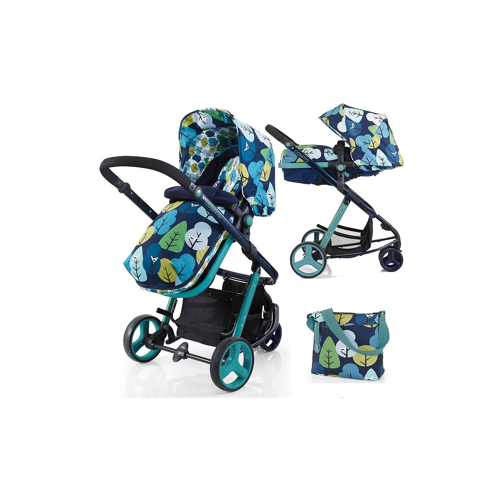 Коляска-трансформер Woop, Cosatto, NightbirdДля любителей функциональности коляски–трансформеры – настоящая находка. Люлька для малыша трансформируется в блок для прогулок. Все материалы, использованные при изготовлении аксессуара, безопасны и отвечают требованиям по качеству продукции.<br><br>Дополнительные характеристики: <br><br>цвет: Nightbird;<br>возраст: до 15 кг;<br>колеса с амортизацией;<br>спинка наклоняется в четырех позициях;<br>регулировка высоты ручки;<br>материал шасси: алюминий;<br>габариты: 97 х 62,5 см;<br>комплектация: блок для прогулок, люлька, подголовник, складывающиеся шасси, защита от дождя и солнца, регулируемая ручка, сумка для мамы, чехол для ножек, матрас.<br><br>Коляску-трансформер WOOP от компании Cosatto можно приобрести в нашем магазине.<br><br>Ширина мм: 1000<br>Глубина мм: 500<br>Высота мм: 310<br>Вес г: 16000<br>Возраст от месяцев: 0<br>Возраст до месяцев: 36<br>Пол: Унисекс<br>Возраст: Детский<br>SKU: 5025700