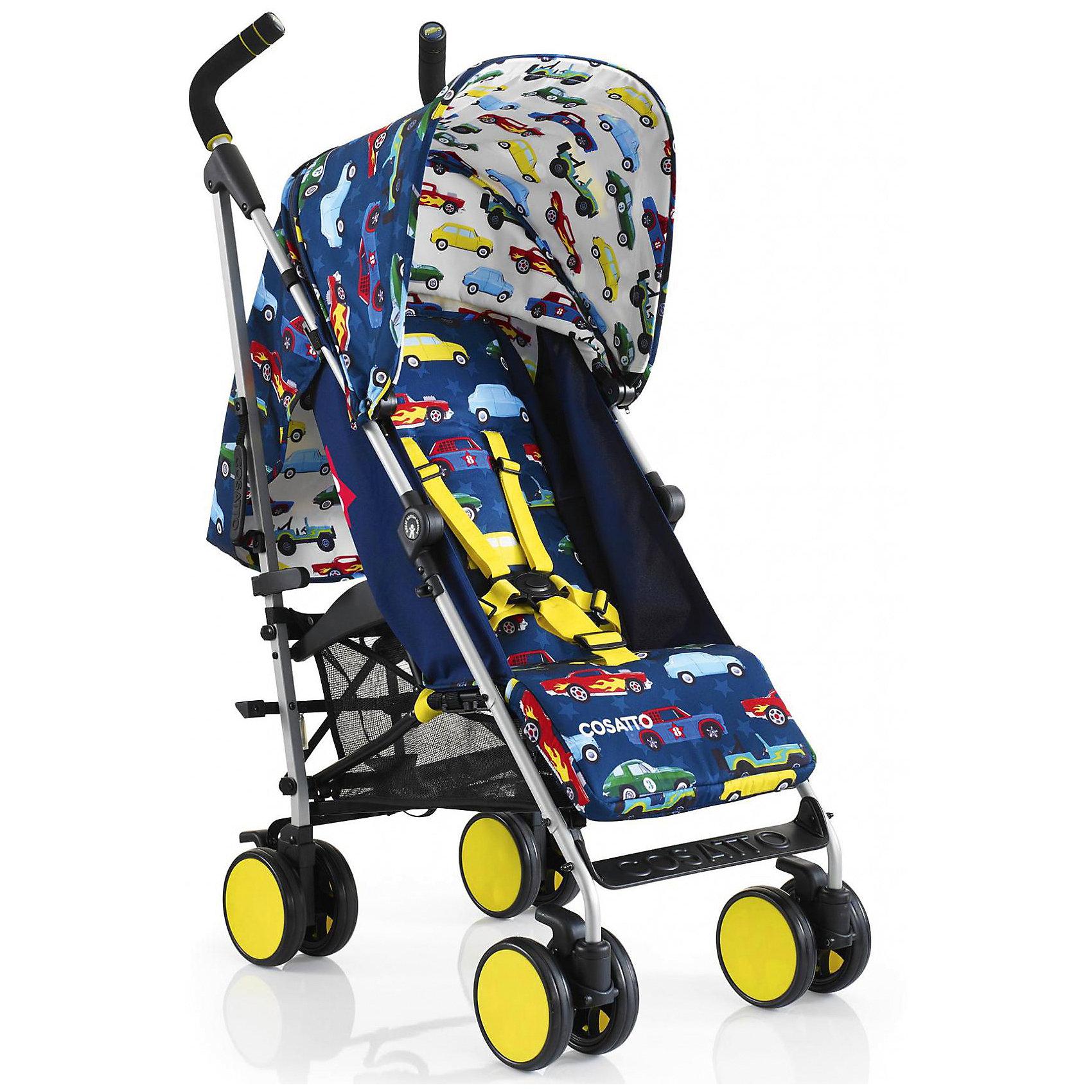 Коляска-трость Cosatto Supa Go, Rev UpКоляски-трости<br>Стильная коляска станет для родителей не только незаменимой вещью, но и стильным аксессуаром. Функциональность, дизайн и маневренность – все это – новая модель от Cosatto. Все материалы, использованные при изготовлении, безопасны и отвечают требованиям по качеству продукции.<br><br>Дополнительные характеристики: <br><br>возраст: 6 месяцев – 3 года;<br>регулируемый капюшон;<br>механизм складывания: трость;<br>регулировка спинки;<br>ножной тормоз;<br>пятиточечные ремни безопасности;<br>габариты: 78 х 48,5 х 110 см;<br>материал шасси: алюминий;<br>комплектация: дождевик<br><br>ВНИМАНИЕ!!! В комплектацию коляски не входит бампер, его можно купить отдельно.<br><br>Коляску-трость SUPA Go от компании Cosatto можно приобрести в нашем магазине.<br><br>Яркие и стильные расцветки коляски поднимут вам настроение. Регулируемый капюшон и спинка. Без бампера<br><br>Ширина мм: 1120<br>Глубина мм: 280<br>Высота мм: 280<br>Вес г: 12000<br>Возраст от месяцев: 6<br>Возраст до месяцев: 36<br>Пол: Унисекс<br>Возраст: Детский<br>SKU: 5025714