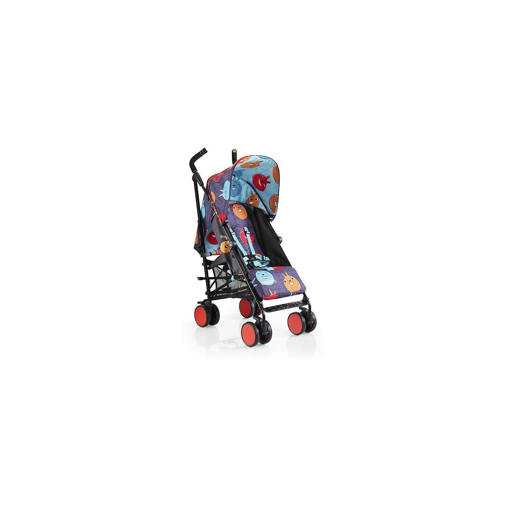 Коляска-трость Cosatto Supa Go, HoppitКоляски-трости<br>Стильная коляска станет для родителей не только незаменимой вещью, но и стильным аксессуаром. Функциональность, дизайн и маневренность – все это – новая модель от Cosatto. Все материалы, использованные при изготовлении, безопасны и отвечают требованиям по качеству продукции.<br><br>Дополнительные характеристики: <br><br>возраст: 6 месяцев – 3 года;<br>регулируемый капюшон;<br>механизм складывания: трость;<br>регулировка спинки;<br>ножной тормоз;<br>пятиточечные ремни безопасности;<br>габариты: 78 х 48,5 х 110 см;<br>материал шасси: алюминий;<br>комплектация: дождевик<br><br>ВНИМАНИЕ!!! В комплектацию коляски не входит бампер, его можно купить отдельно.<br><br>Коляску-трость SUPA Go от компании Cosatto можно приобрести в нашем магазине.<br><br>Яркие и стильные расцветки коляски поднимут вам настроение. Регулируемый капюшон и спинка. Без бампера<br><br>Ширина мм: 1120<br>Глубина мм: 280<br>Высота мм: 280<br>Вес г: 12000<br>Возраст от месяцев: 6<br>Возраст до месяцев: 36<br>Пол: Унисекс<br>Возраст: Детский<br>SKU: 5025716