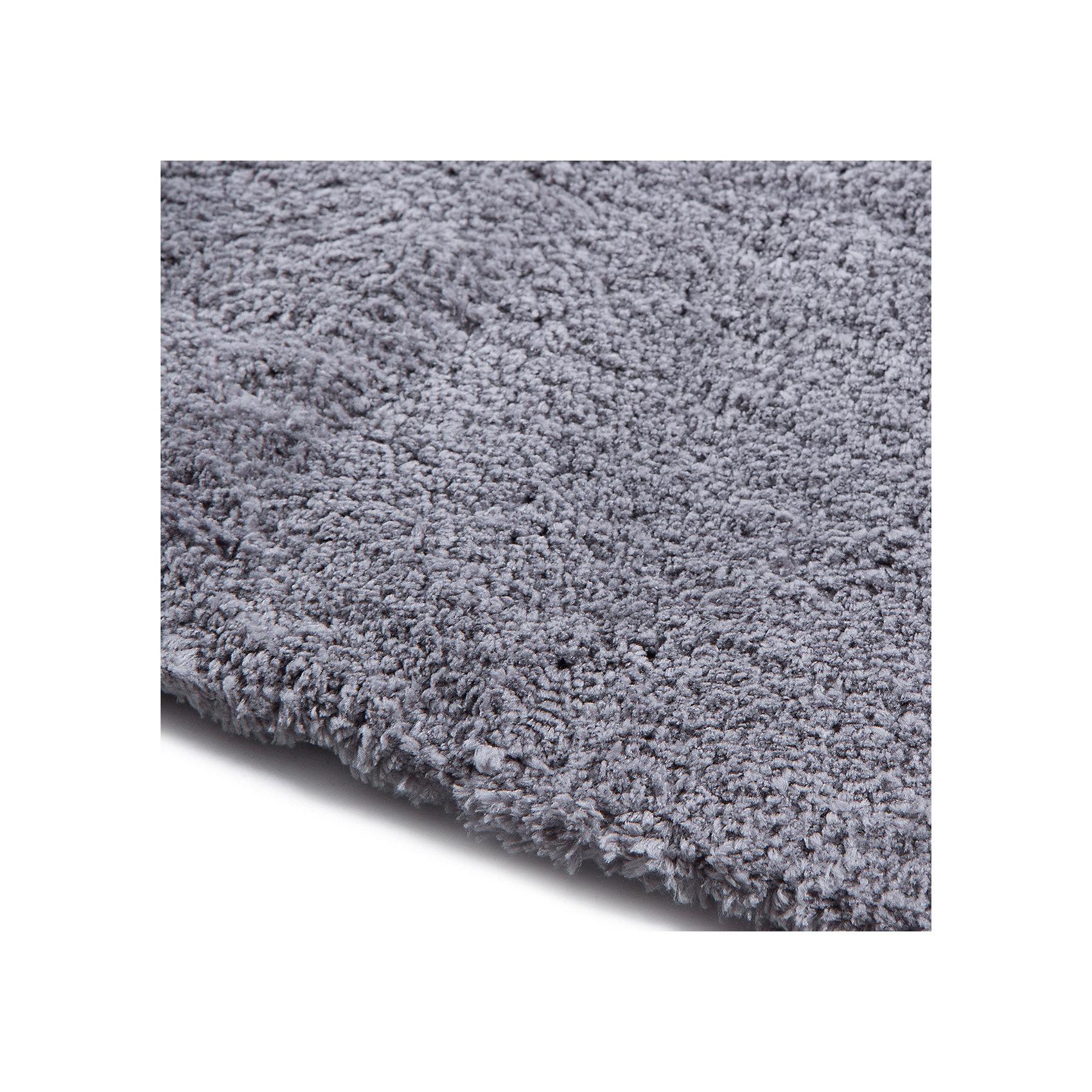Ковёр Microfiber, лавсан, Amigo, серебрянно-серый, 0,8х1,5м. от myToys