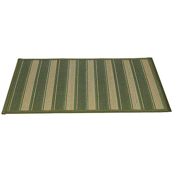 Циновка 500х800мм бамбук, Amigo, зеленыйДетские ковры<br>Циновка 500х800мм бамбук, Amigo, зеленый – это отличный выбор для тех, кто хочет сделать свою жизнь комфортной и эстетичной.<br>Циновка из натурального бамбука прекрасно подходит для использования на кухне, в прихожей и гостиной комнате. Бамбук не впитывает воду, не подвержен гниению и практически не горит, так же всем хорошо известны его антибактериальные свойства. Основание «антислип» не дает циновке скользить на полу. По краям циновка аккуратно обшита. Циновки из натурального бамбука – гипоаллергены, легко чистятся и очень и очень современны и модны!<br><br>Дополнительная информация:<br><br>- Размер: 0,5x0,8 м.<br>- Материал: бамбук<br>- Цвет: зеленый<br><br>Циновку 500х800мм бамбук, Amigo, зеленую можно купить в нашем интернет-магазине.<br>Ширина мм: 800; Глубина мм: 70; Высота мм: 70; Вес г: 500; Возраст от месяцев: 18; Возраст до месяцев: 1188; Пол: Унисекс; Возраст: Детский; SKU: 5025742;