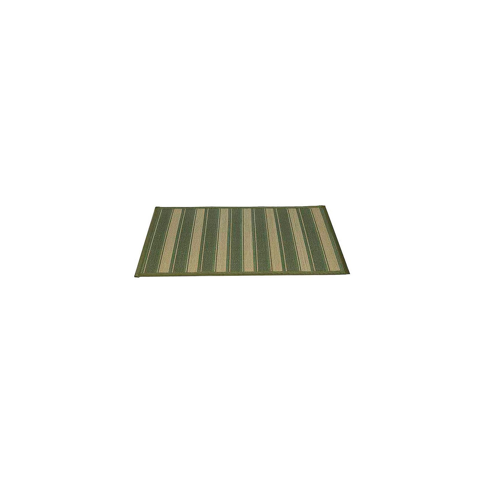Циновка 500х800мм бамбук, Amigo, зеленый