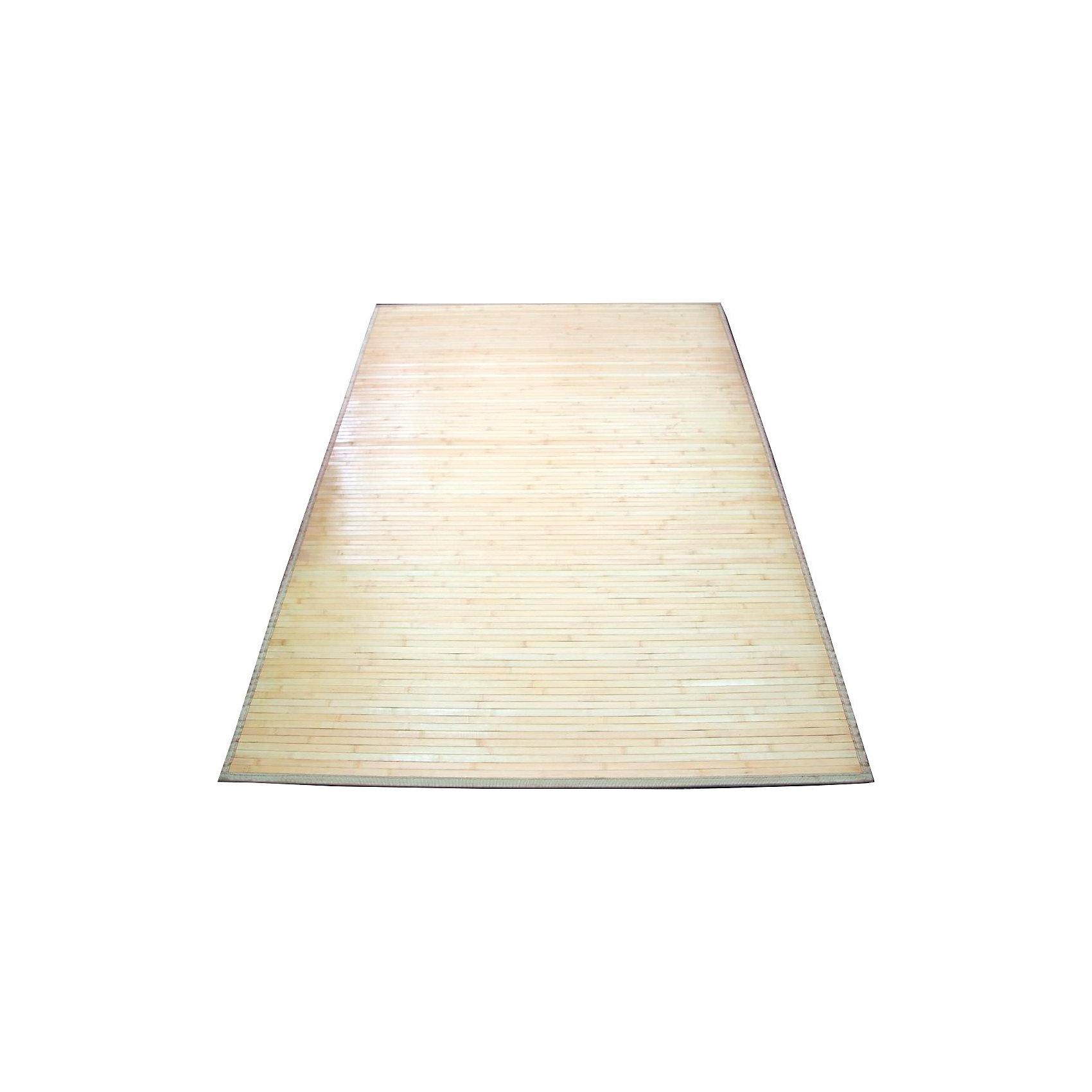 Циновка широкоплашечная 1,2х1,8 бамбук, Amigo, natural