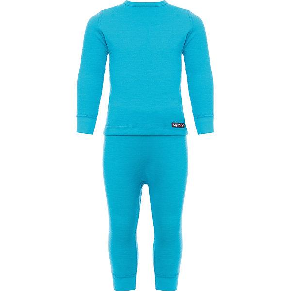 Комплект термобелья LynxyФлис и термобелье<br>Характеристики товара:<br><br>• цвет: голубой<br>• комплектация: лонгслив и рейтузы<br>• состав ткани: шерсть 30%, акрил 70%, внутри - хлопок 100%<br>• двухслойное<br>• сезон: зима<br>• температурный режим: от -20 до 0<br>• застежка: кнопки<br>• пояс: резинка<br>• длинные рукава<br>• страна бренда: Россия<br>• страна изготовитель: Россия<br><br>Теплый детский комплект термобелья состоит из лонгслива и рейтуз. Это термобелье можно надевать как самостоятельный комплект или нижний слой в морозы до - 20 градусов. Двухслойный материал комплекта термобелья для детей позволяет создать комфортный микроклимат в холода. Внутренний слой - из натурального хлопка, мягкий, приятный на ощупь. <br><br>Комплект термобелья Lynxy (Линкси) можно купить в нашем интернет-магазине.<br>Ширина мм: 123; Глубина мм: 10; Высота мм: 149; Вес г: 209; Цвет: голубой; Возраст от месяцев: 6; Возраст до месяцев: 9; Пол: Унисекс; Возраст: Детский; Размер: 74,92,86,80; SKU: 5026109;