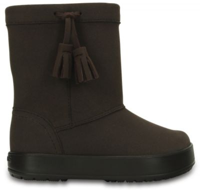 —апоги KidsТ Lodgepoint Boot ƒл¤ ƒевочки Crocs