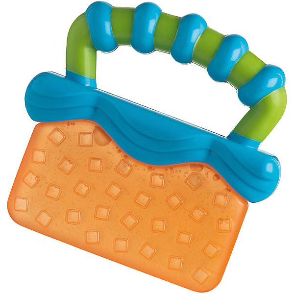 Купить Игрушка-прорезыватель, Playgro, оранжево-синяя, Китай, Унисекс