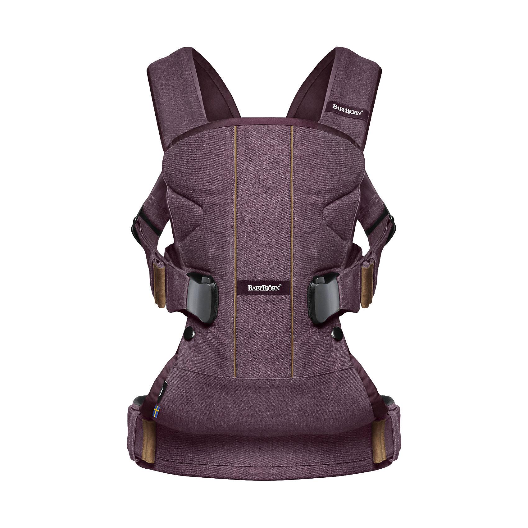 Рюкзак One Soft Cotton Mix Limited edition, BabyBjorn, сливовыйСлинги и рюкзаки-переноски<br>Характеристики товара:<br><br>• возраст с рождения до 3 лет;<br>• вес ребенка от 3,5 до 15 кг;<br>• максимальный рост ребенка 100 см;<br>• материал: хлопок, полиэстер;<br>• размер упаковки 33,3х32,3х10,1 см;<br>• вес упаковки 1,25 кг;<br>• страна производитель: Швеция.<br><br>Рюкзак BabyBjorn One Soft Cotton Mix Limited Edition сливовый — практичное решение для родителей по переноске новорожденного малыша. Рюкзак был разработан при участии педиатров и учитывает все особенности детского организма. Рюкзак поддерживает спину, голову и шею крохи, обеспечивая ему правильное положение. Предусмотрены 4 способа ношения на груди и на спине. До 5 месяцев ребенка рекомендуется носить только лицом к себе, так как его шея, голова и позвоночник еще недостаточно окрепли. После 12 месяцев можно носить ребенка на спине. Поясной ремень плотно фиксирует рюкзак на пояснице, грамотно распределяя тяжесть. Внутренняя часть выполнена из мягкого хлопка, который не вызывает у малышей раздражения и аллергических реакций.<br><br>Рюкзак BabyBjorn One Soft Cotton Mix Limited Edition сливовый можно приобрести в нашем интернет-магазине.<br><br>Ширина мм: 336<br>Глубина мм: 327<br>Высота мм: 109<br>Вес г: 1548<br>Цвет: красный<br>Возраст от месяцев: 0<br>Возраст до месяцев: 36<br>Пол: Унисекс<br>Возраст: Детский<br>SKU: 5030424