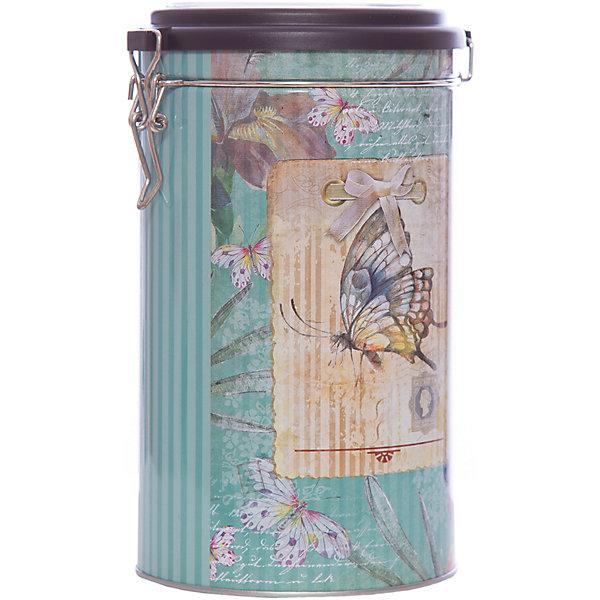 Емкость для сыпучих продуктов Бабочка 1800мл, Magic HomeКухонная утварь<br>Жестяная банка с крышкой из прозрачного пластика предназначена для хранения сыпучих продуктов. Банка украшена рисунком «Бабочка». Вместительная емкость для круп, сахара или чая плотно закрывается крышкой на металлический замок, продукты сохраняют свежесть и аромат, не впитывают посторонние запахи. <br><br>Дополнительная информация:<br><br>Не предназначена для мытья в посудомоечной машине. <br><br>Объем: 1800 мл<br><br>Высота банки Magic Home (без учета крышки): 17,4 см<br>Диаметр банки Magic Home (по верхнему краю): 10,5 см<br><br>Материал: окрашенный черный металл<br><br>Емкость для сыпучих продуктов Бабочка 1800мл, Magic Home можно купить в нашем интернет-магазине.<br><br>Ширина мм: 110<br>Глубина мм: 110<br>Высота мм: 190<br>Вес г: 167<br>Возраст от месяцев: 216<br>Возраст до месяцев: 1200<br>Пол: Унисекс<br>Возраст: Детский<br>SKU: 5030470