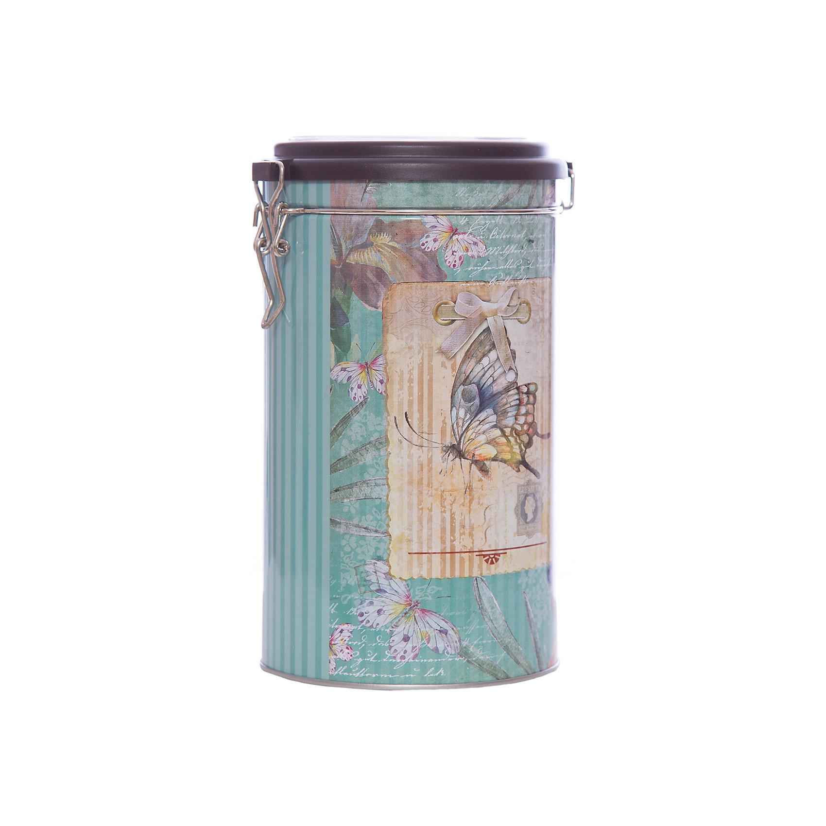 Емкость для сыпучих продуктов Бабочка 1800мл, Magic HomeПосуда<br>Жестяная банка с крышкой из прозрачного пластика предназначена для хранения сыпучих продуктов. Банка украшена рисунком «Бабочка». Вместительная емкость для круп, сахара или чая плотно закрывается крышкой на металлический замок, продукты сохраняют свежесть и аромат, не впитывают посторонние запахи. <br><br>Дополнительная информация:<br><br>Не предназначена для мытья в посудомоечной машине. <br><br>Объем: 1800 мл<br><br>Высота банки Magic Home (без учета крышки): 17,4 см<br>Диаметр банки Magic Home (по верхнему краю): 10,5 см<br><br>Материал: окрашенный черный металл<br><br>Емкость для сыпучих продуктов Бабочка 1800мл, Magic Home можно купить в нашем интернет-магазине.<br><br>Ширина мм: 110<br>Глубина мм: 110<br>Высота мм: 190<br>Вес г: 167<br>Возраст от месяцев: 216<br>Возраст до месяцев: 1200<br>Пол: Унисекс<br>Возраст: Детский<br>SKU: 5030470