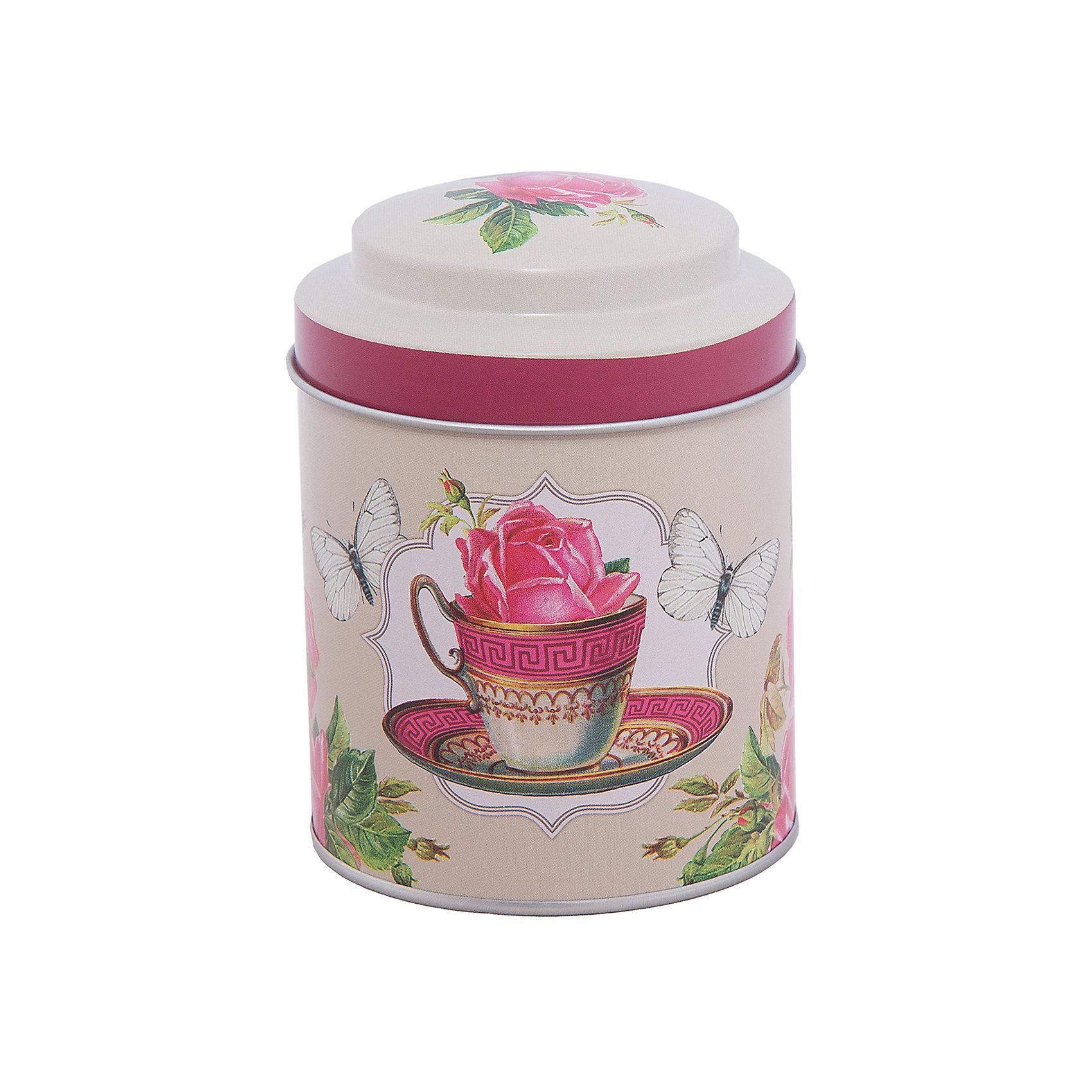Емкость для сыпучих продуктов Чайная роза 680мл, Magic HomeПосуда<br>Жестяная банка с крышкой предназначена для хранения сыпучих продуктов. Банка украшена рисунком «Чайная роза», создает «аппетитное» настроение на кухне. Вместительная емкость для специй, лекарственных трав, сахара или чая плотно закрывается крышкой, продукты сохраняют свежесть и аромат, не впитывают посторонние запахи. <br><br>Дополнительная информация:<br><br>Не предназначена для мытья в посудомоечной машине. <br><br>Объем: 680 мл<br><br>Высота банки Magic Home (без учета крышки): 10 см<br>Диаметр банки Magic Home (по верхнему краю): 9 см<br><br>Материал: окрашенный черный металл<br><br>Емкость для сыпучих продуктов Чайная роза 680мл, Magic Home можно купить в нашем интернет-магазине.<br><br>Ширина мм: 100<br>Глубина мм: 120<br>Высота мм: 100<br>Вес г: 92<br>Возраст от месяцев: 216<br>Возраст до месяцев: 1200<br>Пол: Унисекс<br>Возраст: Детский<br>SKU: 5030473
