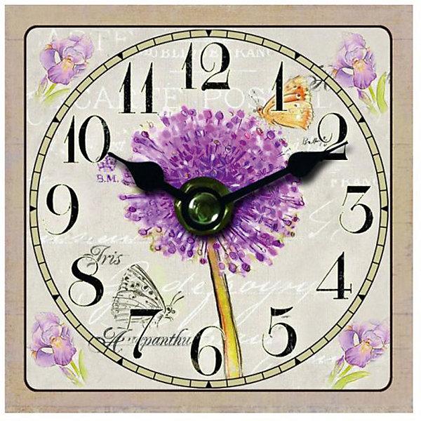 Часы настольные Цветение, Magic HomeДетские предметы интерьера<br>Настольные часы с открытым циферблатом устанавливаются на плоской поверхности стола, полки или прикроватной тумбочки. Ход стрелок плавный, часы кварцевые, без боя, с циферблатом, часовой механизм находится на задней стенке часов. Корпус часов Magic Home – мдф-основа с рисунком «Цветение». <br><br>Дополнительная информация:<br><br>Для работы часов требуется 1 батарейка типа АА (приобретается отдельно).<br><br>Размер: 10х10 см<br><br>Материал: МДФ - древесноволокнистая плита средней плотности, изготовленная из древесных опилок мелкой фракции.<br><br>Часы настольные Цветение, Magic Home можно купить в нашем интернет-магазине.<br><br>Ширина мм: 210<br>Глубина мм: 150<br>Высота мм: 40<br>Вес г: 177<br>Возраст от месяцев: 216<br>Возраст до месяцев: 1200<br>Пол: Унисекс<br>Возраст: Детский<br>SKU: 5030488