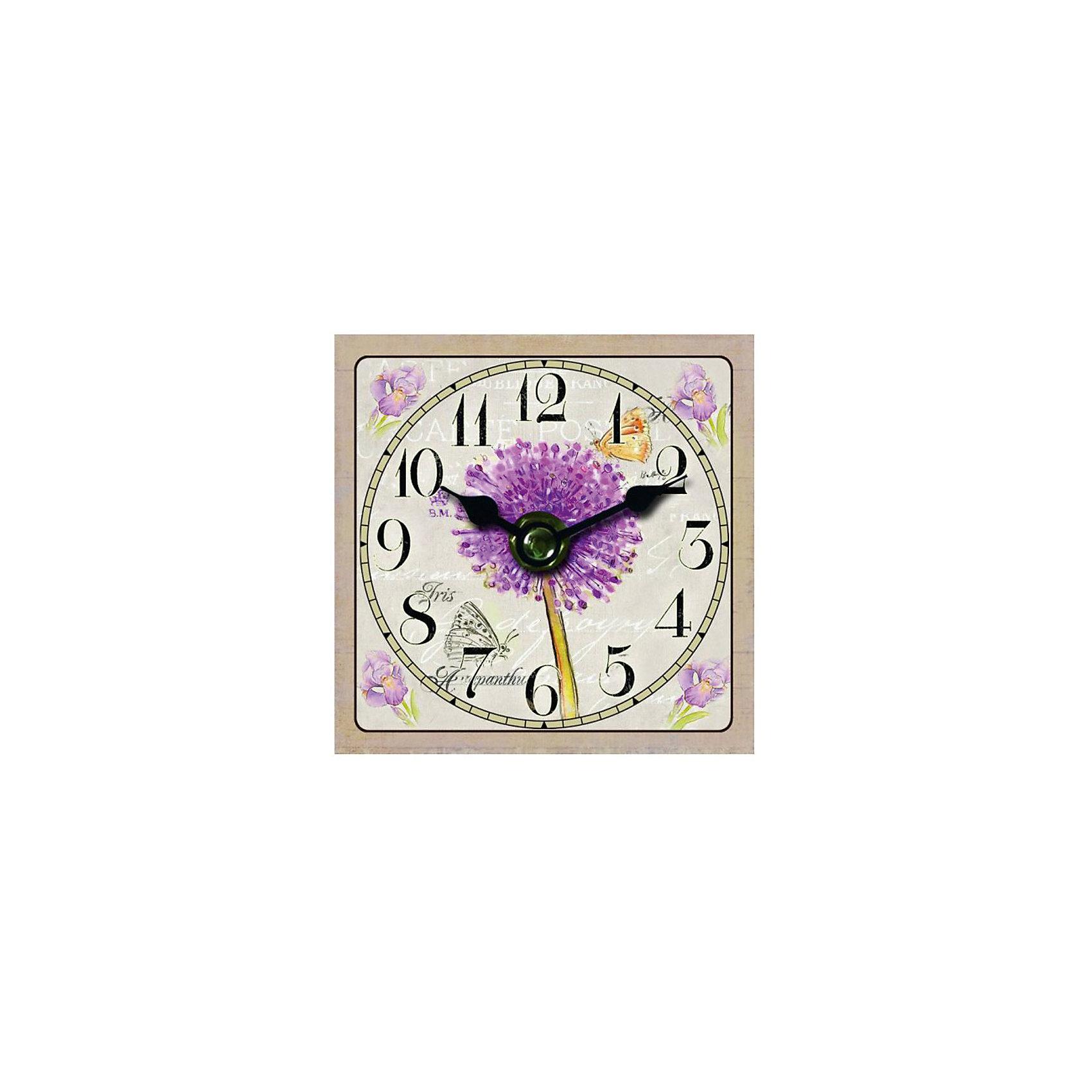 Часы настольные Цветение, Magic HomeПредметы интерьера<br>Настольные часы с открытым циферблатом устанавливаются на плоской поверхности стола, полки или прикроватной тумбочки. Ход стрелок плавный, часы кварцевые, без боя, с циферблатом, часовой механизм находится на задней стенке часов. Корпус часов Magic Home – мдф-основа с рисунком «Цветение». <br><br>Дополнительная информация:<br><br>Для работы часов требуется 1 батарейка типа АА (приобретается отдельно).<br><br>Размер: 10х10 см<br><br>Материал: МДФ - древесноволокнистая плита средней плотности, изготовленная из древесных опилок мелкой фракции.<br><br>Часы настольные Цветение, Magic Home можно купить в нашем интернет-магазине.<br><br>Ширина мм: 210<br>Глубина мм: 150<br>Высота мм: 40<br>Вес г: 177<br>Возраст от месяцев: 216<br>Возраст до месяцев: 1200<br>Пол: Унисекс<br>Возраст: Детский<br>SKU: 5030488