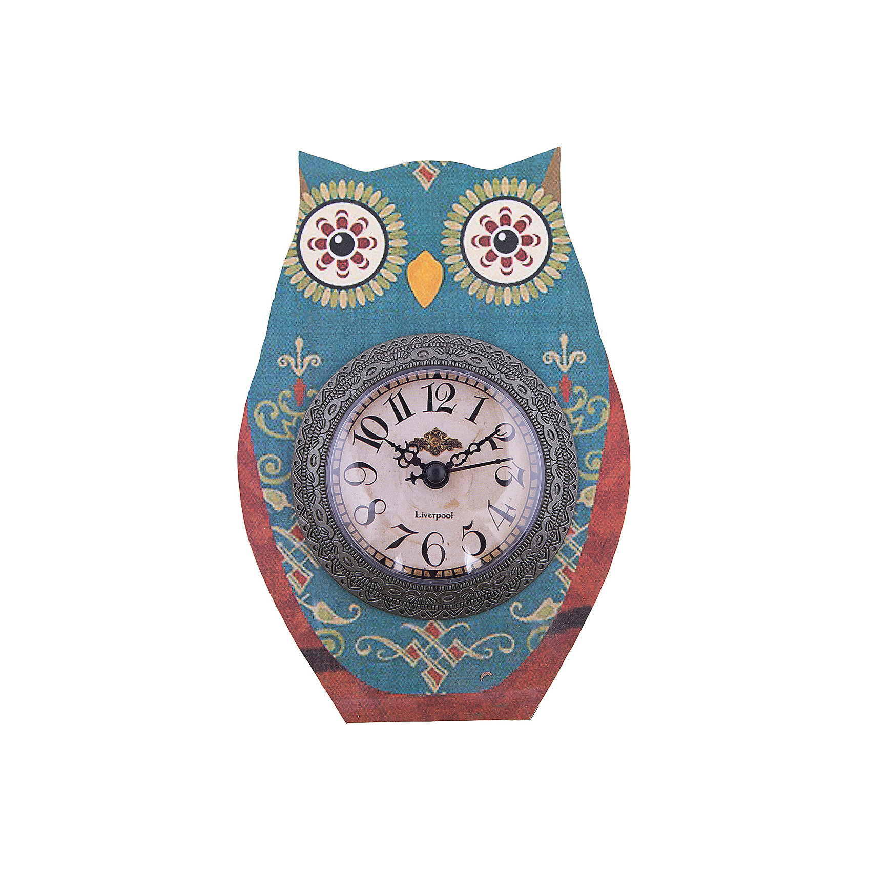 Часы настольные Совушкины чары, Magic HomeНастольные часы с открытым циферблатом устанавливаются на плоской поверхности стола, полки или прикроватной тумбочки. Ход стрелок плавный, часы кварцевые, без боя, с циферблатом, часовой механизм находится на задней стенке часов. Корпус часов Magic Home – мдф-основа с рисунком «Совушкины чары». <br><br>Дополнительная информация:<br><br>Для работы часов требуется 1 батарейка типа АА (приобретается отдельно).<br><br>Размер: 15х20 см<br><br>Материал: МДФ - древесноволокнистая плита средней плотности, изготовленная из древесных опилок мелкой фракции.<br><br>Часы настольные Совушкины чары, Magic Home можно купить в нашем интернет-магазине.<br><br>Ширина мм: 210<br>Глубина мм: 150<br>Высота мм: 40<br>Вес г: 177<br>Возраст от месяцев: 216<br>Возраст до месяцев: 1200<br>Пол: Унисекс<br>Возраст: Детский<br>SKU: 5030490