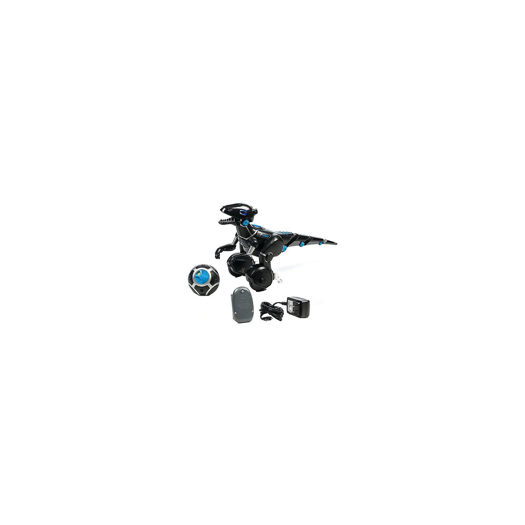 Робот Мипозавр, WowWeeРоботы<br>Робот Мипозавр от WowWee, несомненно, станет одной из любимых игрушек ребенка. Динозавр на колесиках очень любит играть в мячик. Установите режим Мяч - робот будет бегать за ним. В режиме Поводок робот следует за человеком, несущим мяч в руках. Кроме того, благодаря датчикам на голове и звуковому датчику, динозавр умеет распознавать некоторые звуки и жесты. Хлопайте в ладоши, прикоснитесь к хвостику или глазам Мипозавра и он обязательно отреагирует. Робот управляется пультом (в комплекте) или с помощью приложения в смартфоне. Приложение обновляется и совсем скоро ваш Мипозавр научится выполнять новые трюки. Питание от аккумулятора. Порадуйте вашего ребенка этим забавным роботом!<br><br>Дополнительная информация:<br>В комплекте: динозавр, мяч, пульт, аккумулятор, зарядное устройство<br>Размер: 48х20х25 см<br>Вес: 1,36 кг<br>Совместим с Apple и Android<br><br>Вы можете купить робота Мипозавра от WowWee в нашем интернет-магазине.<br><br>Ширина мм: 480<br>Глубина мм: 200<br>Высота мм: 250<br>Вес г: 1900<br>Возраст от месяцев: 96<br>Возраст до месяцев: 192<br>Пол: Мужской<br>Возраст: Детский<br>SKU: 5032071