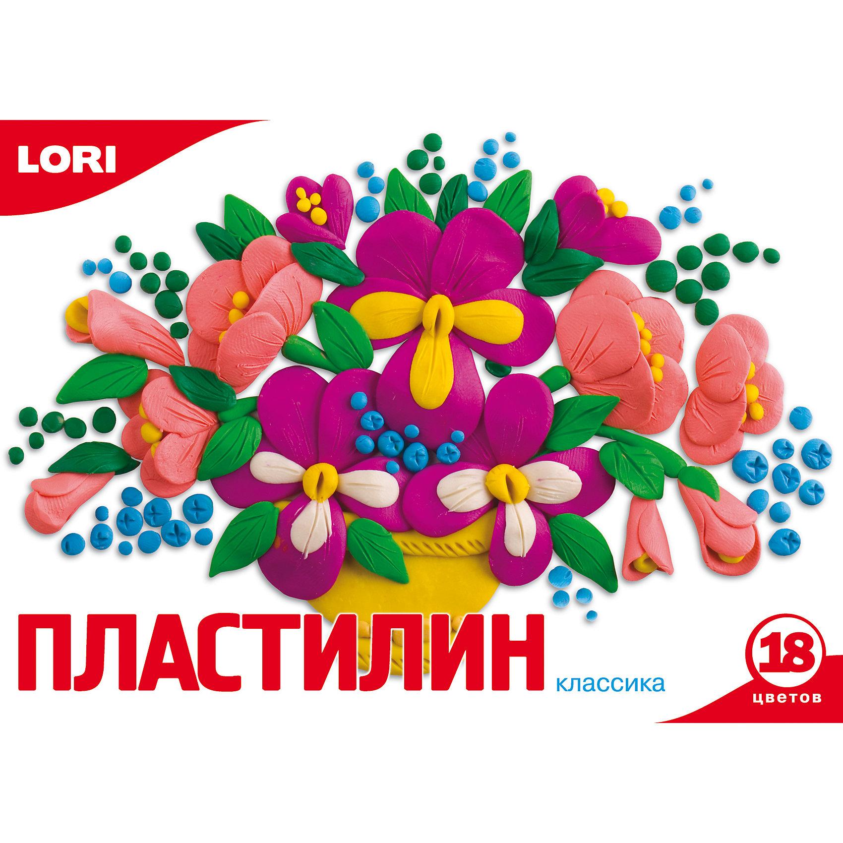 Пластилин «Классика»  18 цветов, 20 гЛепка<br>Пластилин 18 цв.,  360 гр., стек<br><br>Ширина мм: 225<br>Глубина мм: 145<br>Высота мм: 161<br>Вес г: 2558<br>Возраст от месяцев: 36<br>Возраст до месяцев: 84<br>Пол: Унисекс<br>Возраст: Детский<br>SKU: 5032215