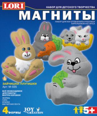 LORI Фигурки на магнитах «Зайчишки-плутишки»