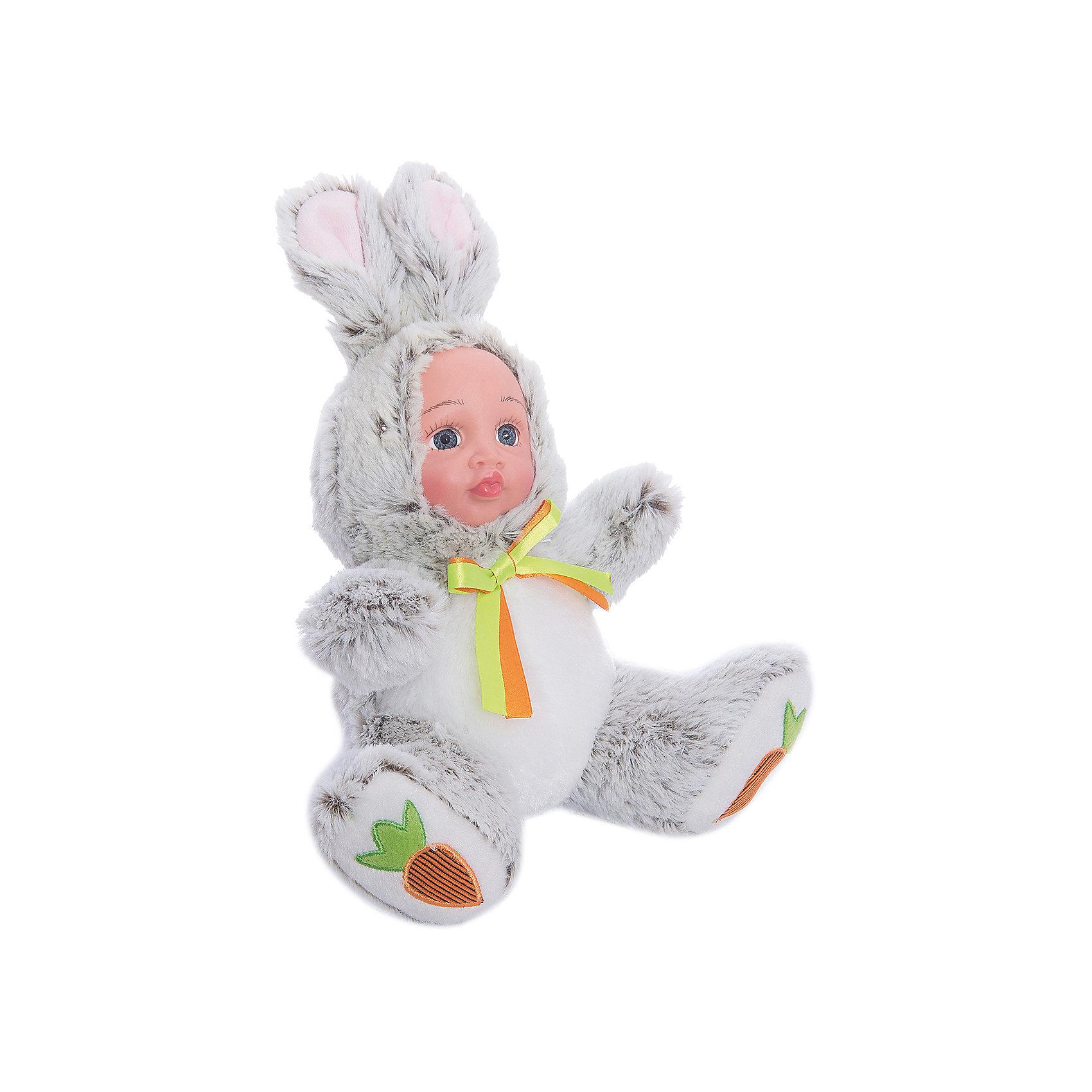 Игрушка Мой зайчонок, Fluffy FamilyМягкие куклы<br>Такая игрушка - милая вариация стандартной куклы–младенца. Малыш выполнен из пластика и тщательно прорисованным личиком. Одета кукла в костюм совенка. Ткань приятна на ощупь и малышу понравится играть с куклой. Игрушка подходит для одиночной игры малыша и для игр в компании. Не содержит мелких деталей. Кукла из коллекционной серии. Соберите весь набор! Материалы, использованные при изготовлении товара, абсолютно безопасны и отвечают всем международным требованиям по качеству.<br><br>Дополнительные характеристики:<br><br>материал: ПВХ, искусственный мех, пластик;<br>габариты: 20 X 9 X 30 см;<br>наполнитель: полиэтиленовые гранулы.<br><br>Игрушку Мой зайчонок от компании Fluffy Family можно приобрести в нашем магазине.<br><br>Ширина мм: 570<br>Глубина мм: 580<br>Высота мм: 450<br>Вес г: 143<br>Возраст от месяцев: 36<br>Возраст до месяцев: 96<br>Пол: Унисекс<br>Возраст: Детский<br>SKU: 5032465