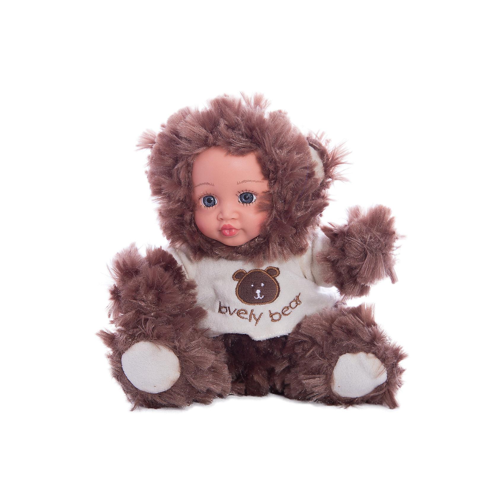 Игрушка Мой мишка, Fluffy FamilyМягкие куклы<br>Такая игрушка - милая вариация стандартной куклы–младенца. Малыш выполнен из пластика и тщательно прорисованным личиком. Одета кукла в костюм совенка. Ткань приятна на ощупь и малышу понравится играть с куклой. Игрушка подходит для одиночной игры малыша и для игр в компании. Не содержит мелких деталей. Кукла из коллекционной серии. Соберите весь набор! Материалы, использованные при изготовлении товара, абсолютно безопасны и отвечают всем международным требованиям по качеству.<br><br>Дополнительные характеристики:<br><br>материал: ПВХ, искусственный мех, пластик;<br>габариты: 20 X 9 X 30 см;<br>наполнитель: полиэтиленовые гранулы.<br><br>Игрушку Мой мишка от компании Fluffy Family можно приобрести в нашем магазине.<br><br>Ширина мм: 570<br>Глубина мм: 580<br>Высота мм: 450<br>Вес г: 139<br>Возраст от месяцев: 36<br>Возраст до месяцев: 96<br>Пол: Унисекс<br>Возраст: Детский<br>SKU: 5032466