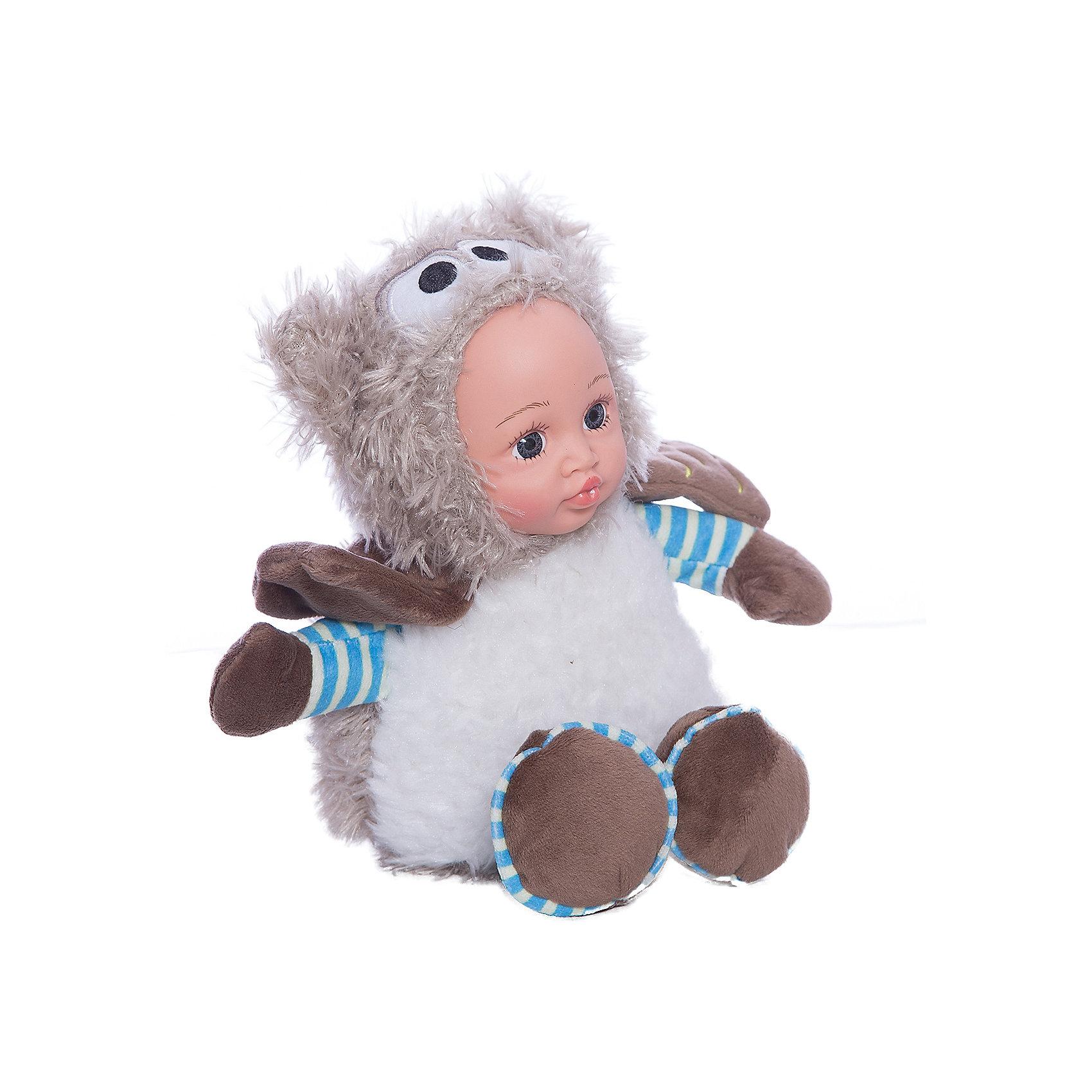 Игрушка Мой совенок, Fluffy FamilyМягкие куклы<br>Игрушка «мой совенок» - милая вариация стандартной куклы–младенца. Малыш выполнен из пластика и тщательно прорисованным личиком. Одета кукла в костюм совенка. Ткань приятна на ощупь и малышу понравится играть с куклой. Игрушка подходит для одиночной игры малыша и для игр в компании. Не содержит мелких деталей. Кукла из коллекционной серии. Соберите весь набор! Материалы, использованные при изготовлении товара, абсолютно безопасны и отвечают всем международным требованиям по качеству.<br><br>Дополнительные характеристики:<br><br>материал: ПВХ, искусственный мех, пластик;<br>габариты: 20 X 9 X 30 см;<br>наполнитель: полиэтиленовые гранулы.<br><br>Игрушку Мой совенок от компании Fluffy Family можно приобрести в нашем магазине.<br><br>Ширина мм: 570<br>Глубина мм: 580<br>Высота мм: 450<br>Вес г: 140<br>Возраст от месяцев: 36<br>Возраст до месяцев: 96<br>Пол: Унисекс<br>Возраст: Детский<br>SKU: 5032468