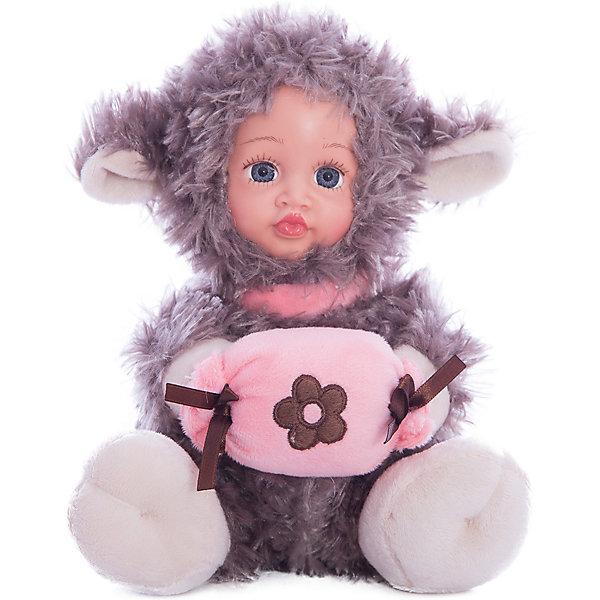 Игрушка Мой ягненок, Fluffy FamilyКуклы<br>Такая игрушка - милая вариация стандартной куклы–младенца. Малыш выполнен из пластика и тщательно прорисованным личиком. Одета кукла в костюм совенка. Ткань приятна на ощупь и малышу понравится играть с куклой. Игрушка подходит для одиночной игры малыша и для игр в компании. Не содержит мелких деталей. Кукла из коллекционной серии. Соберите весь набор! Материалы, использованные при изготовлении товара, абсолютно безопасны и отвечают всем международным требованиям по качеству.<br><br>Дополнительные характеристики:<br><br>материал: ПВХ, искусственный мех, пластик;<br>габариты: 20 X 9 X 30 см;<br>наполнитель: полиэтиленовые гранулы.<br><br>Игрушку Мой ягненок от компании Fluffy Family можно приобрести в нашем магазине.<br>Ширина мм: 570; Глубина мм: 580; Высота мм: 450; Вес г: 139; Возраст от месяцев: 36; Возраст до месяцев: 96; Пол: Унисекс; Возраст: Детский; SKU: 5032470;