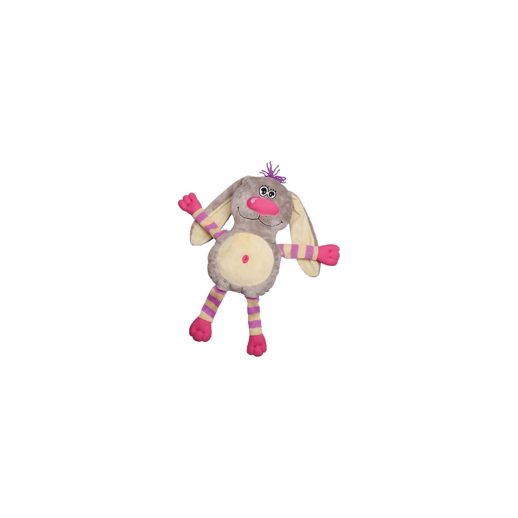 Игрушка-обнимашка Заяц, 60 см, Fluffy FamilyМягкие игрушки – фавориты среди девчачьих игрушек. Приятный материал и милая форма игрушки понравится всем девочкам, любящим игрушечных пушистиков. Заяц – интересный вариант для подарка, когда хочется показать свою нежность, испытываемую к получателю. Для самых маленьких мышь станет отличным компаньоном для сна в обнимку и настоящим другом, которому можно доверить все секреты. Материалы, использованные при изготовлении товара, абсолютно безопасны и отвечают всем международным требованиям по качеству.<br><br>Дополнительные характеристики:<br><br>материал: искусственный мех;<br>габариты: 60 см.<br><br>Игрушку-обнимашку Заяц от компании Fluffy Family можно приобрести в нашем магазине.<br><br>Ширина мм: 650<br>Глубина мм: 580<br>Высота мм: 450<br>Вес г: 1000<br>Возраст от месяцев: 36<br>Возраст до месяцев: 96<br>Пол: Унисекс<br>Возраст: Детский<br>SKU: 5032471