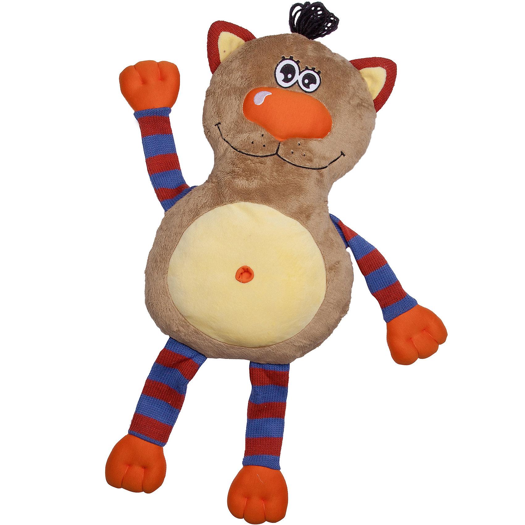 Игрушка-обнимашка Кот, 60 см, Fluffy FamilyМягкие игрушки – фавориты среди девчачьих игрушек. Приятный материал и милая форма игрушки понравится всем девочкам, любящим игрушечных пушистиков. Кот – интересный вариант для подарка, когда хочется показать свою нежность, испытываемую к получателю. Для самых маленьких мышь станет отличным компаньоном для сна в обнимку и настоящим другом, которому можно доверить все секреты. Материалы, использованные при изготовлении товара, абсолютно безопасны и отвечают всем международным требованиям по качеству.<br><br>Дополнительные характеристики:<br><br>материал: искусственный мех;<br>габариты: 60 см.<br><br>Игрушку-обнимашку Кот от компании Fluffy Family можно приобрести в нашем магазине.<br><br>Ширина мм: 650<br>Глубина мм: 580<br>Высота мм: 450<br>Вес г: 1000<br>Возраст от месяцев: 36<br>Возраст до месяцев: 96<br>Пол: Унисекс<br>Возраст: Детский<br>SKU: 5032472
