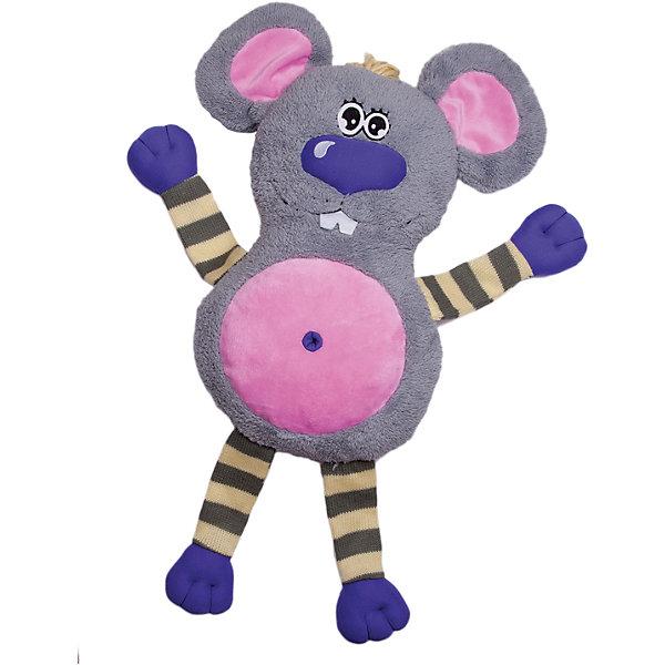 Игрушка-обнимашка Мышь, 60 см, Fluffy FamilyМягкие игрушки животные<br>Мягкие игрушки – фавориты среди девчачьих игрушек. Приятный материал и милая форма игрушки понравится всем девочкам, любящим игрушечных пушистиков. Мышка – интересный вариант для подарка, когда хочется показать свою нежность, испытываемую к получателю. Для самых маленьких мышь станет отличным компаньоном для сна в обнимку и настоящим другом, которому можно доверить все секреты. Материалы, использованные при изготовлении товара, абсолютно безопасны и отвечают всем международным требованиям по качеству.<br><br>Дополнительные характеристики:<br><br>материал: искусственный мех;<br>цвет: серый;<br>габариты: 60 см.<br><br>Игрушку-обнимашку Мышь от компании Fluffy Family можно приобрести в нашем магазине.<br>Ширина мм: 650; Глубина мм: 580; Высота мм: 450; Вес г: 1000; Возраст от месяцев: 36; Возраст до месяцев: 96; Пол: Унисекс; Возраст: Детский; SKU: 5032473;