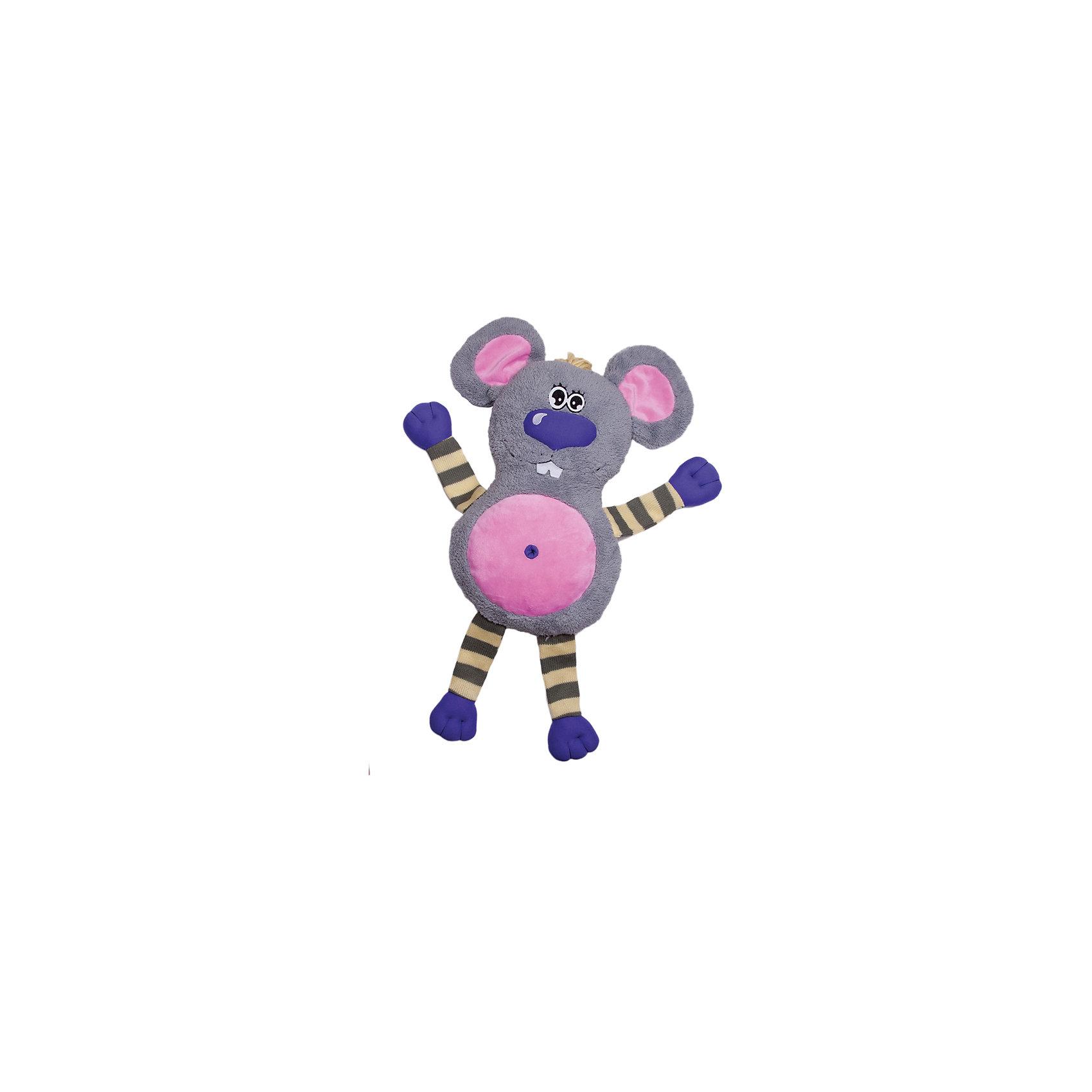 Игрушка-обнимашка Мышь, 60 см, Fluffy FamilyЗвери и птицы<br>Мягкие игрушки – фавориты среди девчачьих игрушек. Приятный материал и милая форма игрушки понравится всем девочкам, любящим игрушечных пушистиков. Мышка – интересный вариант для подарка, когда хочется показать свою нежность, испытываемую к получателю. Для самых маленьких мышь станет отличным компаньоном для сна в обнимку и настоящим другом, которому можно доверить все секреты. Материалы, использованные при изготовлении товара, абсолютно безопасны и отвечают всем международным требованиям по качеству.<br><br>Дополнительные характеристики:<br><br>материал: искусственный мех;<br>цвет: серый;<br>габариты: 60 см.<br><br>Игрушку-обнимашку Мышь от компании Fluffy Family можно приобрести в нашем магазине.<br><br>Ширина мм: 650<br>Глубина мм: 580<br>Высота мм: 450<br>Вес г: 1000<br>Возраст от месяцев: 36<br>Возраст до месяцев: 96<br>Пол: Унисекс<br>Возраст: Детский<br>SKU: 5032473