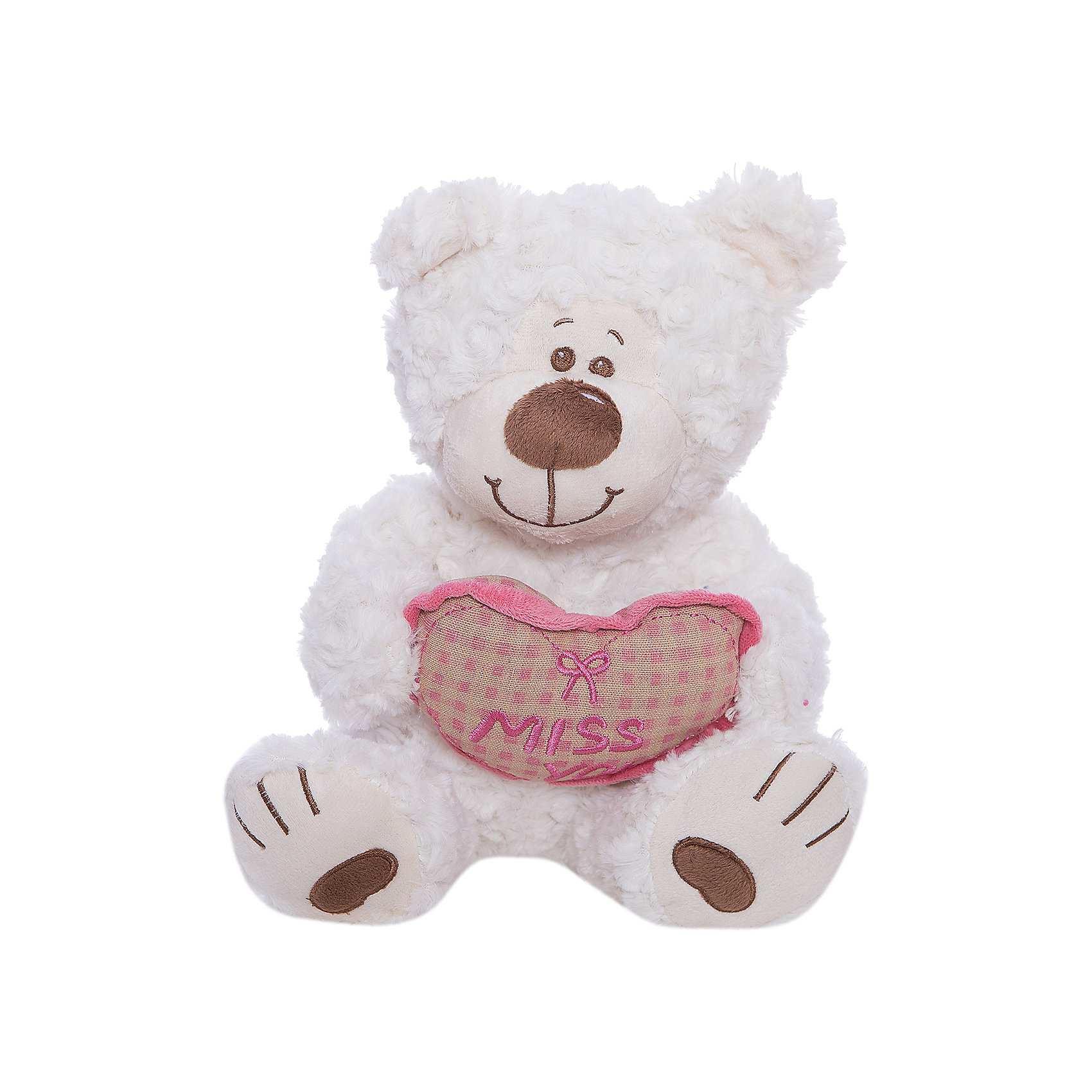 Мишка Митя с сердцем, белый, 28 см, Fluffy FamilyМедвежата<br>Мягкие игрушки – фавориты среди девчачьих игрушек. Приятный материал и милая форма игрушки понравится всем девочкам, любящим игрушечных пушистиков. Медвежонок – классический вариант для подарка, когда хочется показать свою нежность, испытываемую к получателю. Для самых маленьких медвежонок станет отличным компаньоном для сна в обнимку и настоящим другом, которому можно доверить все секреты. Материалы, использованные при изготовлении товара, абсолютно безопасны и отвечают всем международным требованиям по качеству.<br><br>Дополнительные характеристики:<br><br>материал: искусственный мех;<br>цвет: белый;<br>габариты: 28 см.<br><br>Мишку «Митя с сердцем» от компании Fluffy Family можно приобрести в нашем магазине.<br><br>Ширина мм: 650<br>Глубина мм: 580<br>Высота мм: 450<br>Вес г: 217<br>Возраст от месяцев: 36<br>Возраст до месяцев: 96<br>Пол: Унисекс<br>Возраст: Детский<br>SKU: 5032477