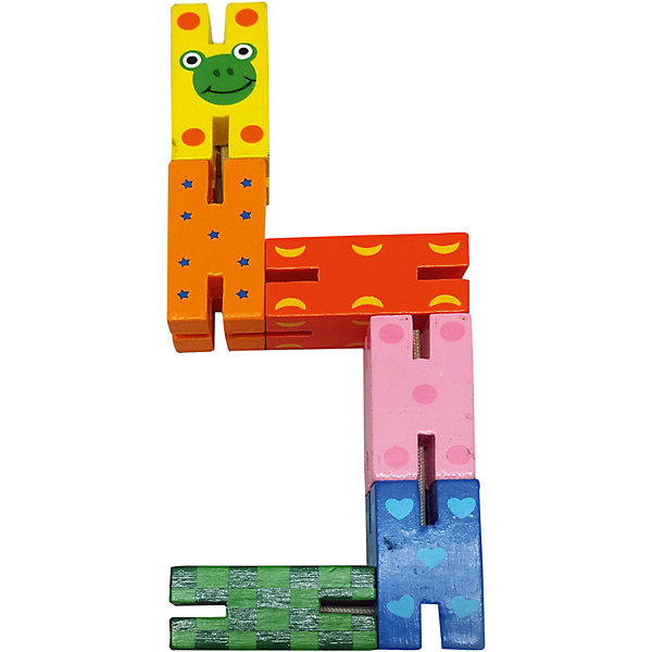 Логическая игрушка Змейка, MapachaДеревянные игрушки<br>Логические игрушки – необходимая позиция в детской комнате для нормального и стабильного развития малыша. «Змейка» - игрушка на составление одной фигуры из нескольких мелких деталей. Модель развивает воображение, мелкую моторику и творческие способности малыша. Компания Mapacha – абсолютный лидер по производству экологически чистых игрушек для детей ясельного возраста. Материалы, использованные при изготовлении товара, абсолютно безопасны и отвечают всем международным требованиям по качеству.<br><br>Дополнительные характеристики:<br><br>материал: натуральное дерево;<br>цвет: разноцветный;<br>количество: 6 сегментов;<br>габариты: 8 X 2 X 19 см.<br><br>Логическую игрушку «Змейка» от компании Mapacha можно приобрести в нашем магазине.<br><br>Ширина мм: 535<br>Глубина мм: 200<br>Высота мм: 385<br>Вес г: 51<br>Возраст от месяцев: 36<br>Возраст до месяцев: 72<br>Пол: Унисекс<br>Возраст: Детский<br>SKU: 5032497