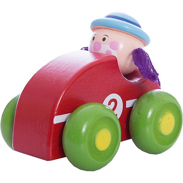 Машинка Клоун, красная, MapachaКаталки и качалки<br>Компания Mapacha – абсолютный лидер по производству экологически чистых игрушек для детей ясельного возраста. Машинки – любимые игрушки всех маленьких мальчиков. Новая модель – яркая деревянная машинка с необычным водителем – веселым рыжим клоуном! Основной цвет игрушки – зеленый, колеса – сочного фиолетового цвета. Данная модель прослужит не один год и не потеряет своего первоначального вида. Материалы, использованные при изготовлении товара, абсолютно безопасны и отвечают всем международным требованиям по качеству.<br><br>Дополнительные характеристики:<br><br>материал: натуральное дерево, текстиль;<br>цвет: красный;<br>габариты: 16 X 6 X 15 см.<br><br>Машинку Клоун от компании Mapacha можно приобрести в нашем магазине.<br><br>Ширина мм: 430<br>Глубина мм: 325<br>Высота мм: 410<br>Вес г: 125<br>Возраст от месяцев: 36<br>Возраст до месяцев: 72<br>Пол: Унисекс<br>Возраст: Детский<br>SKU: 5032499